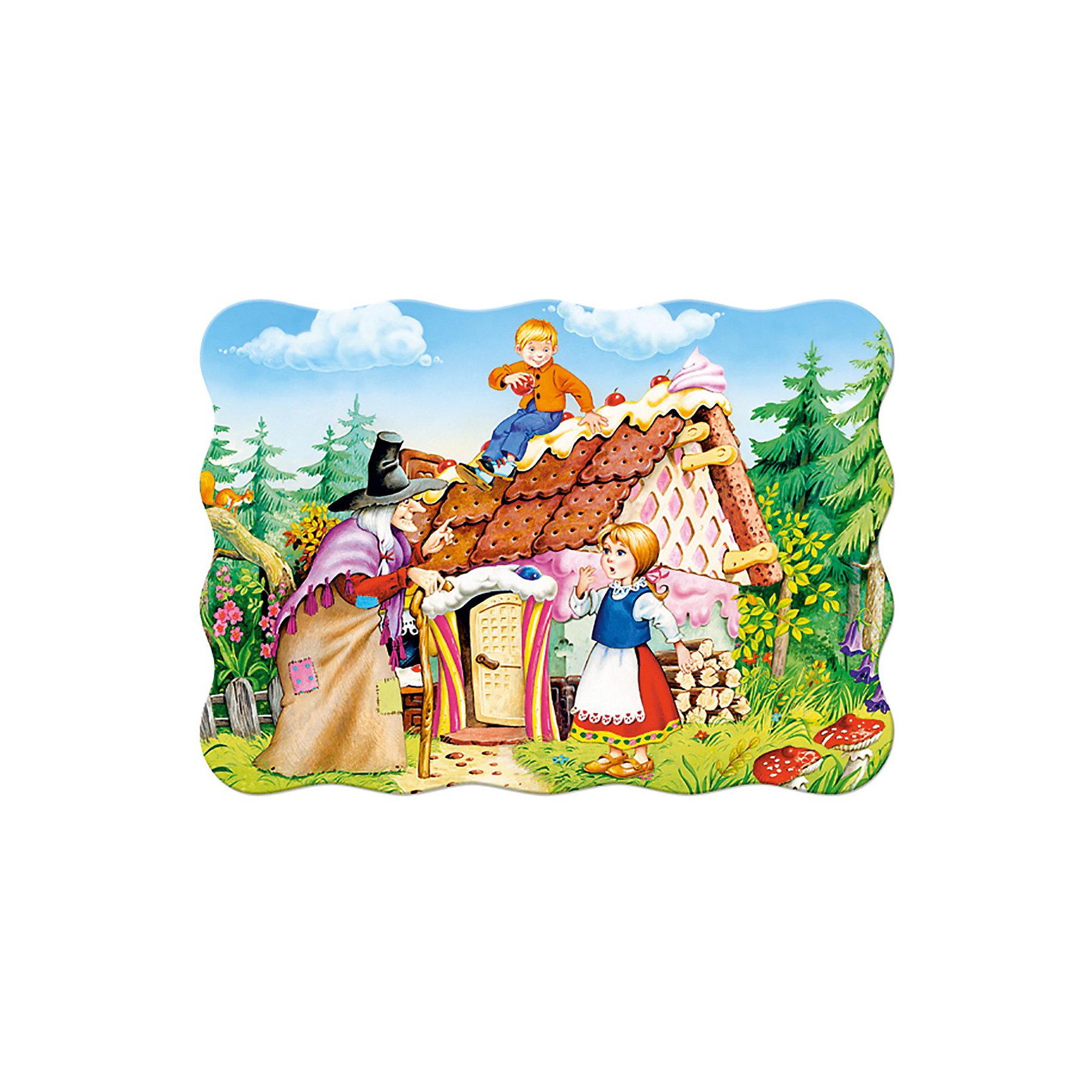 Пазл  Пряничный домик, 30 деталей, CastorlandПазл  Пряничный домик, 30 деталей, Castorland (Касторленд) - это увлекательный пазл с крупными яркими деталями.<br>Пазл  Пряничный домик - это занимательный пазл для малышей. Большие красочные детали пазла, из плотного картона, легко соединяются. Собирая пазл, малыш сможет не только увлекательно провести время, но и развить образное и логическое мышление, наблюдательность, мелкую моторику и координацию движений рук.<br><br>Дополнительная информация:<br><br>- Количество деталей: 30<br>- Размер картинки: 32 ? 23 см.<br>- Материал: плотный картон<br>- Упаковка: картонная коробка<br>- Размер коробки: 18 ? 4 ? 13 см.<br>- Вес: 150 гр.<br><br>Пазл  Пряничный домик, 30 деталей, Castorland (Касторленд) можно купить в нашем интернет-магазине.<br><br>Ширина мм: 180<br>Глубина мм: 40<br>Высота мм: 130<br>Вес г: 150<br>Возраст от месяцев: 36<br>Возраст до месяцев: 84<br>Пол: Унисекс<br>Возраст: Детский<br>Количество деталей: 30<br>SKU: 3899109
