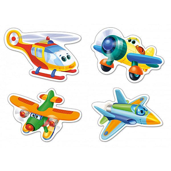 Пазлы Смешные самолеты, 3*4*6*9 деталей, CastorlandПазлы для малышей<br>Пазлы Смешные самолеты, 3*4*6*9 деталей, Castorland (Касторленд) - это увлекательный набор для первого знакомства вашего малыша с пазлами.<br>Контурные пазлы для самых маленьких с изображением смешных самолетов. Собирая пазлы, малыш сможет не только увлекательно провести время, но и развить образное и логическое мышление, наблюдательность, мелкую моторику и координацию движений рук. Пазлы выполнены из плотного картона, детали красочные и крупные, легко собираются.<br><br>Дополнительная информация:<br><br>- В наборе: 4 пазла, каждый пазл состоит из разного количества деталей<br>- Количество деталей: 3, 4, 6, 9<br>- Размер картинок: 15,5 х 11 см.<br>- Материал: плотный картон<br>- Упаковка: картонная коробка<br>- Размер коробки: 17,5 х 3,7 х 13 см.<br>- Вес: 110 гр.<br><br>Пазлы Смешные самолеты, 3*4*6*9 деталей, Castorland (Касторленд) можно купить в нашем интернет-магазине.<br>Ширина мм: 175; Глубина мм: 37; Высота мм: 130; Вес г: 110; Возраст от месяцев: 36; Возраст до месяцев: 84; Пол: Унисекс; Возраст: Детский; Количество деталей: 3; SKU: 3899114;