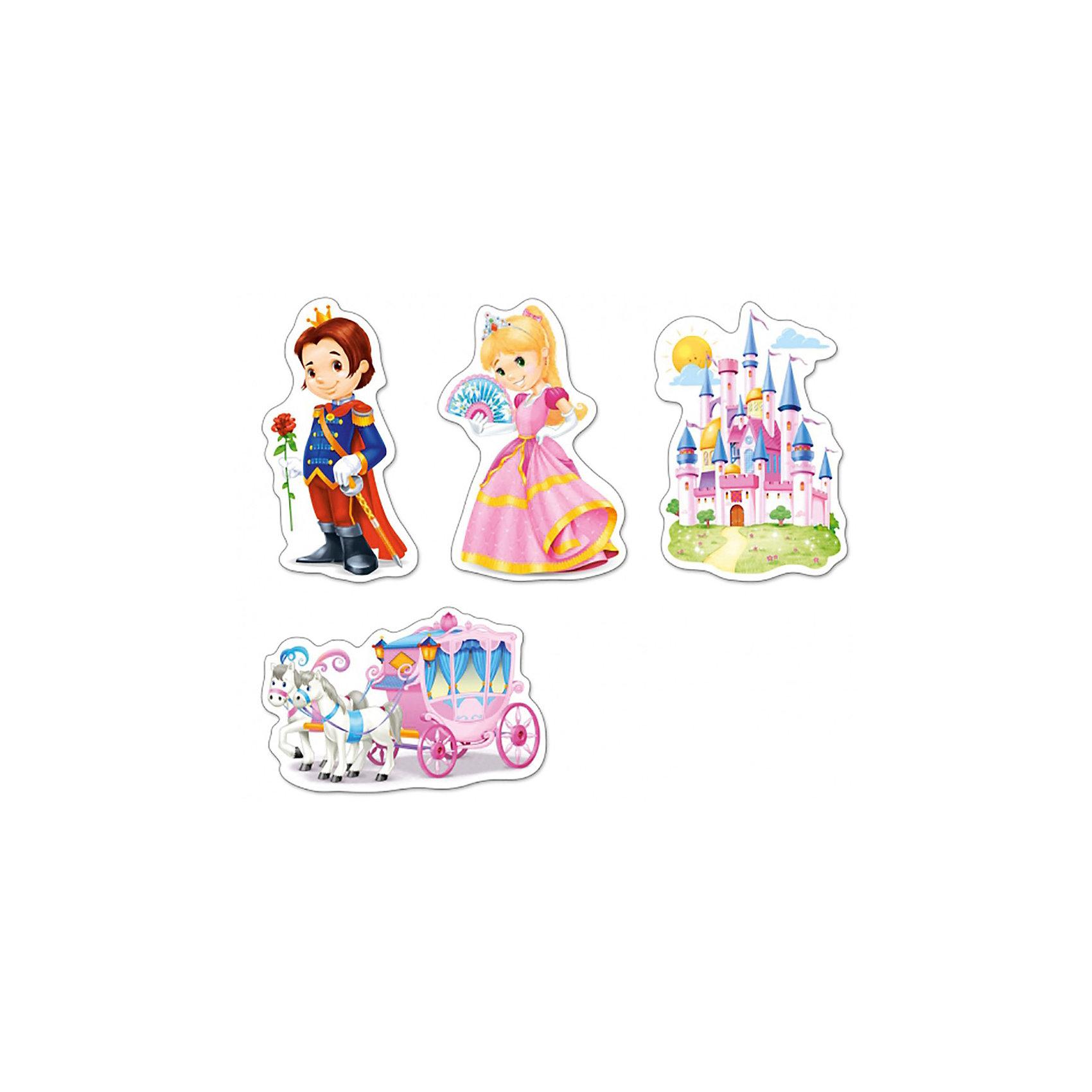 Пазлы Мир принцесс, 3*4*6*9 деталей, CastorlandПазлы Мир принцесс, 3*4*6*9 деталей, Castorland (Касторленд) - это увлекательный набор для первого знакомства вашей малышки с пазлами.<br>Пазлы Мир принцесс – это контурные пазлы для самых маленьких, состоящие из четырех отдельных картинок разной степени сложности. В наборе пазлы с изображением сказочной кареты, прекрасного замка, принцессы и принца. Собирая пазлы, малышка сможет не только увлекательно провести время, но и развить образное и логическое мышление, наблюдательность, мелкую моторику и координацию движений рук. Пазлы выполнены из плотного картона, детали красочные и крупные, легко собираются.<br><br>Дополнительная информация:<br><br>- Каждый пазл состоит из разного количества деталей: сказочная карета – 9 деталей, замок – 6 деталей, принц - -4 детали, принцесса – 3 детали<br>- Размер картинок: 16.5 ? 11 см.<br>- Материал: плотный картон<br>- Упаковка: картонная коробка<br>- Размер коробки: 17,5 х 3,7 х 13 см.<br>- Вес: 110 гр.<br><br>Пазлы Мир принцесс, 3*4*6*9 деталей, Castorland (Касторленд) можно купить в нашем интернет-магазине.<br><br>Ширина мм: 175<br>Глубина мм: 37<br>Высота мм: 130<br>Вес г: 110<br>Возраст от месяцев: 36<br>Возраст до месяцев: 84<br>Пол: Унисекс<br>Возраст: Детский<br>Количество деталей: 3<br>SKU: 3899115