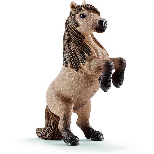 Жеребец Мини Шетти, SchleichМир животных<br>Жеребец Мини Шетти, Schleich (Шляйх) – это высококачественная коллекционная и игровая фигурка.<br>Фигурка жеребца Мини Шетти прекрасно разнообразит игру вашего ребенка и станет отличным пополнением коллекции его фигурок животных. Пони породы Шетти назван в честь острова неподалеку от Шотландии. Они очень выносливы и использовались в сельском хозяйстве и горнодобывающей промышленности в холодном суровом климате. Сейчас эту породу лошадей можно увидеть в зоопарках, цирках, они используются для занятий с детьми и взрослыми, поскольку очень дружелюбные и отличаются спокойными, плавными движениями. У этой породы сильные и короткие ноги, немного выгнутая спина и отвисающий живот. У них очень элегантная маленькая голова и густая грива.<br>Прекрасно выполненные фигурки Schleich (Шляйх) являются максимально точной копией настоящих животных и отличаются высочайшим качеством игрушек ручной работы. Каждая фигурка разработана с учетом исследований в области педагогики и производится как настоящее произведение для маленьких детских ручек. Все фигурки Schleich (Шляйх) сделаны из гипоаллергенных высокотехнологичных материалов, раскрашены вручную и не вызывают аллергии у ребенка.<br><br>Дополнительная информация:<br><br>- Размер фигурки: 8,4 x 6,1 x 2,9 см.<br>- Материал: высококачественный каучуковый пластик<br><br>Фигурку Жеребца Мини Шетти, Schleich (Шляйх) можно купить в нашем интернет-магазине.<br>Ширина мм: 128; Глубина мм: 63; Высота мм: 22; Вес г: 43; Возраст от месяцев: 36; Возраст до месяцев: 96; Пол: Женский; Возраст: Детский; SKU: 3902500;