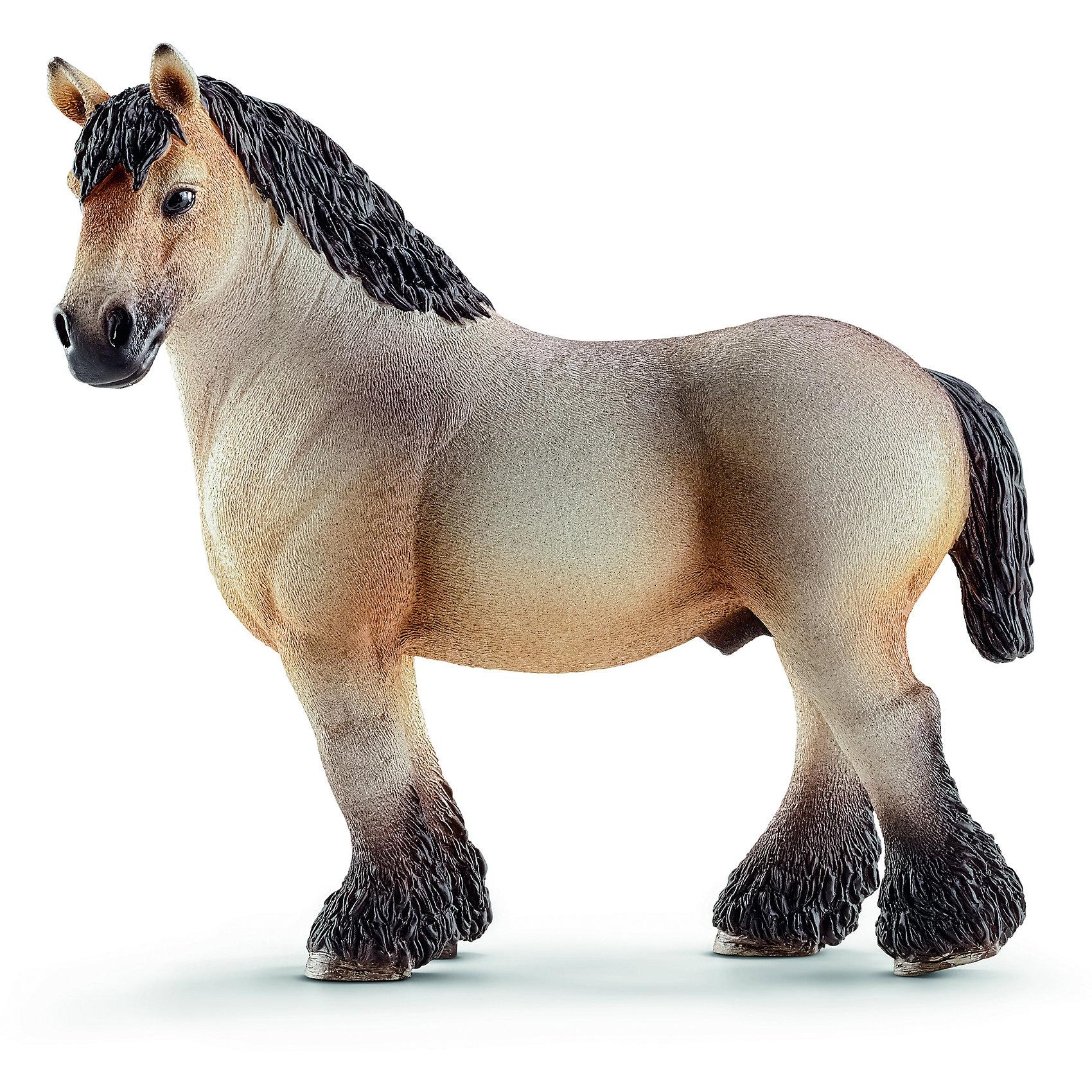 Schleich Арденский жеребец, Schleich фигурки игрушки schleich фиордская лошадь жеребец