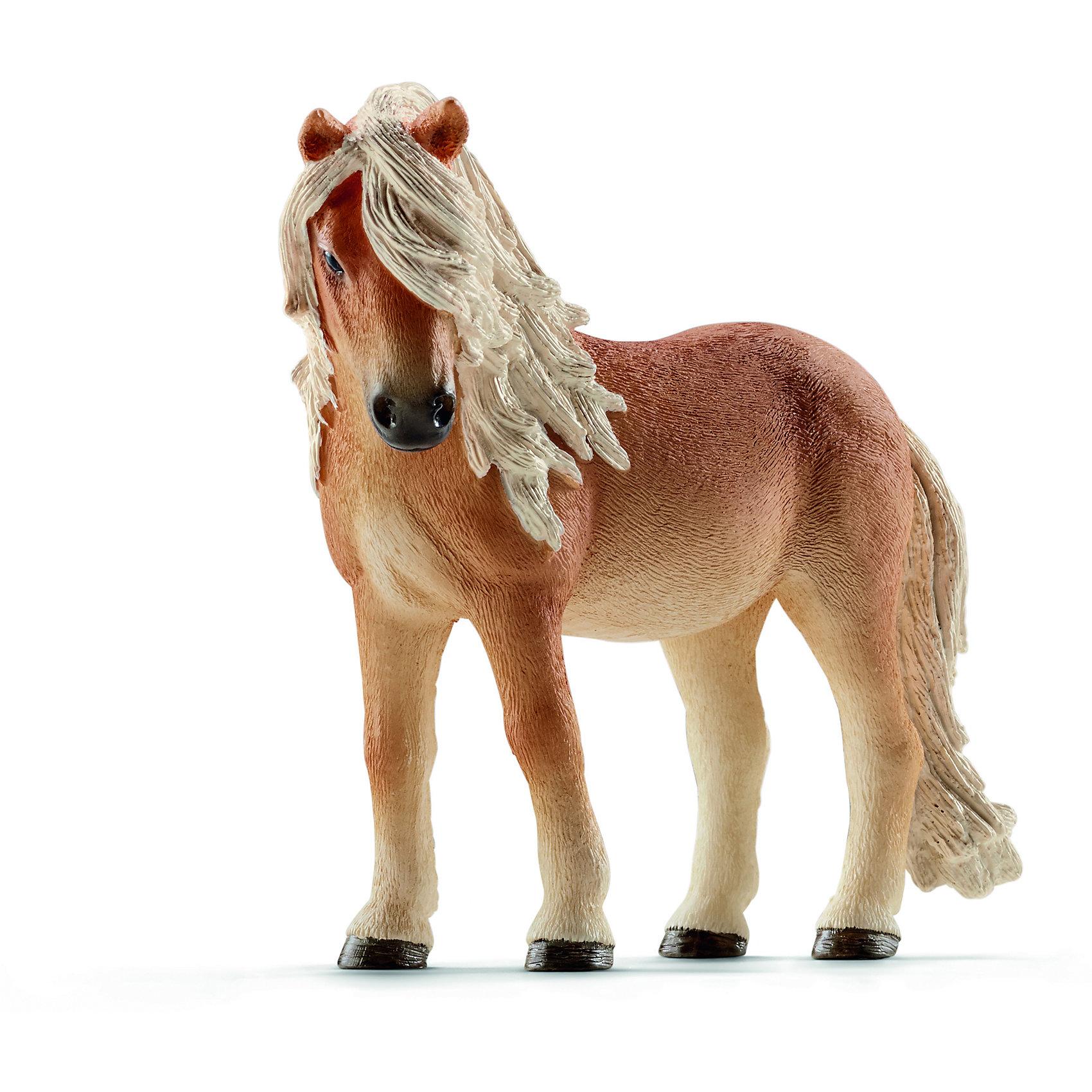 Исландский пони, SchleichИсландский пони, Schleich (Шляйх) – это высококачественная коллекционная и игровая фигурка.<br>Фигурка Исландского пони прекрасно разнообразит игру вашего ребенка и станет отличным пополнением коллекции его фигурок животных. Исландский пони - очень упорная, выносливая маленькой лошадка с очень уверенным шагом. Лошадей этой породы очень любят дети во всем мире. Благодаря небольшим размерам  их используются для обучения верховой езде. Несмотря на свой маленький рост, лошадка выглядит величественно. Фигурка исландского пони  выполнена в бежевом цвете. У нее - пушистый хвостик и красивая развивающаяся грива. <br><br>Прекрасно выполненные фигурки Schleich (Шляйх) являются максимально точной копией настоящих животных и отличаются высочайшим качеством игрушек ручной работы. Каждая фигурка разработана с учетом исследований в области педагогики и производится как настоящее произведение для маленьких детских ручек. Все фигурки Schleich (Шляйх) сделаны из гипоаллергенных высокотехнологичных материалов, раскрашены вручную и не вызывают аллергии у ребенка.<br><br>Дополнительная информация:<br><br>- Размер фигурки: 9,1 x 8 x 4 см.<br>- Материал: высококачественный каучуковый пластик<br><br>Фигурку Исландского пони, Schleich (Шляйх) можно купить в нашем интернет-магазине.<br><br>Ширина мм: 117<br>Глубина мм: 96<br>Высота мм: 40<br>Вес г: 97<br>Возраст от месяцев: 36<br>Возраст до месяцев: 96<br>Пол: Женский<br>Возраст: Детский<br>SKU: 3902511
