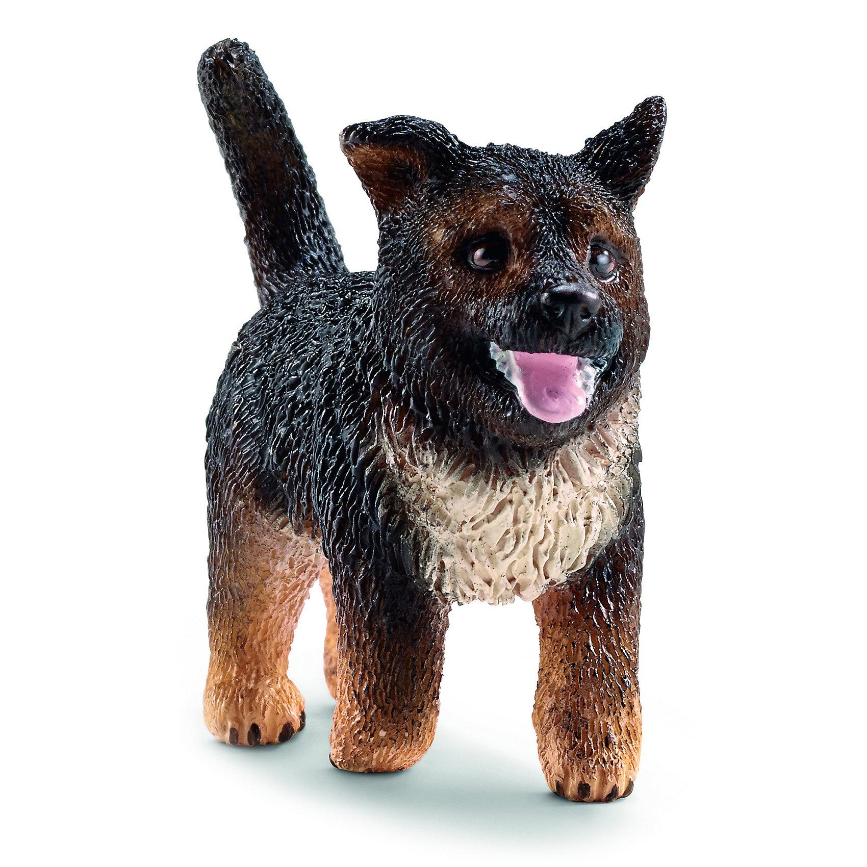Schleich Немецкая овчарка щенок, Schleich фигурки игрушки schleich немецкая овчарка