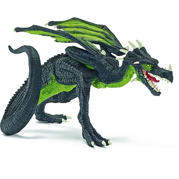 Дракон Бегун, SchleichМир животных<br>Дракон Бегун, Schleich (Шляйх) – это высококачественная игровая фигурка.<br>Дракон Бегун из серии Рыцари от Schleich (Шляйх) - восхитительная фигурка дракона, которая сделает игры с рыцарями и воинами еще увлекательнее. Дракон Бегун неплохо летает. Но вот скорость, что он развивает, передвигаясь по земле, действительно впечатляет. Стремительный силуэт бегущего дракона абсолютно узнаваем. Дракон Бегун вполне безобиден, он вступает в бой только в случае крайней необходимости. Всегда чистенький, можно сказать, опрятный; будто дракон следит за своим внешним видом, и ему не безразлично, что скажут о нём окружающие. <br>Прекрасно выполненные фигурки Schleich (Шляйх) отличаются высочайшим качеством игрушек ручной работы. Каждая фигурка разработана с учетом исследований в области педагогики и производится как настоящее произведение для маленьких детских ручек. Все фигурки Schleich (Шляйх) сделаны из гипоаллергенных высокотехнологичных материалов, раскрашены вручную и не вызывают аллергии у ребенка.<br><br>Дополнительная информация:<br><br>- Размер фигурки: 18,8 х 11,6 х 11,6 см.<br>- Материал: высококачественный каучуковый пластик<br><br>Фигурку Дракон Бегун, Schleich (Шляйх) можно купить в нашем интернет-магазине.<br><br>Ширина мм: 169<br>Глубина мм: 101<br>Высота мм: 115<br>Вес г: 130<br>Возраст от месяцев: 36<br>Возраст до месяцев: 96<br>Пол: Мужской<br>Возраст: Детский<br>SKU: 3902629
