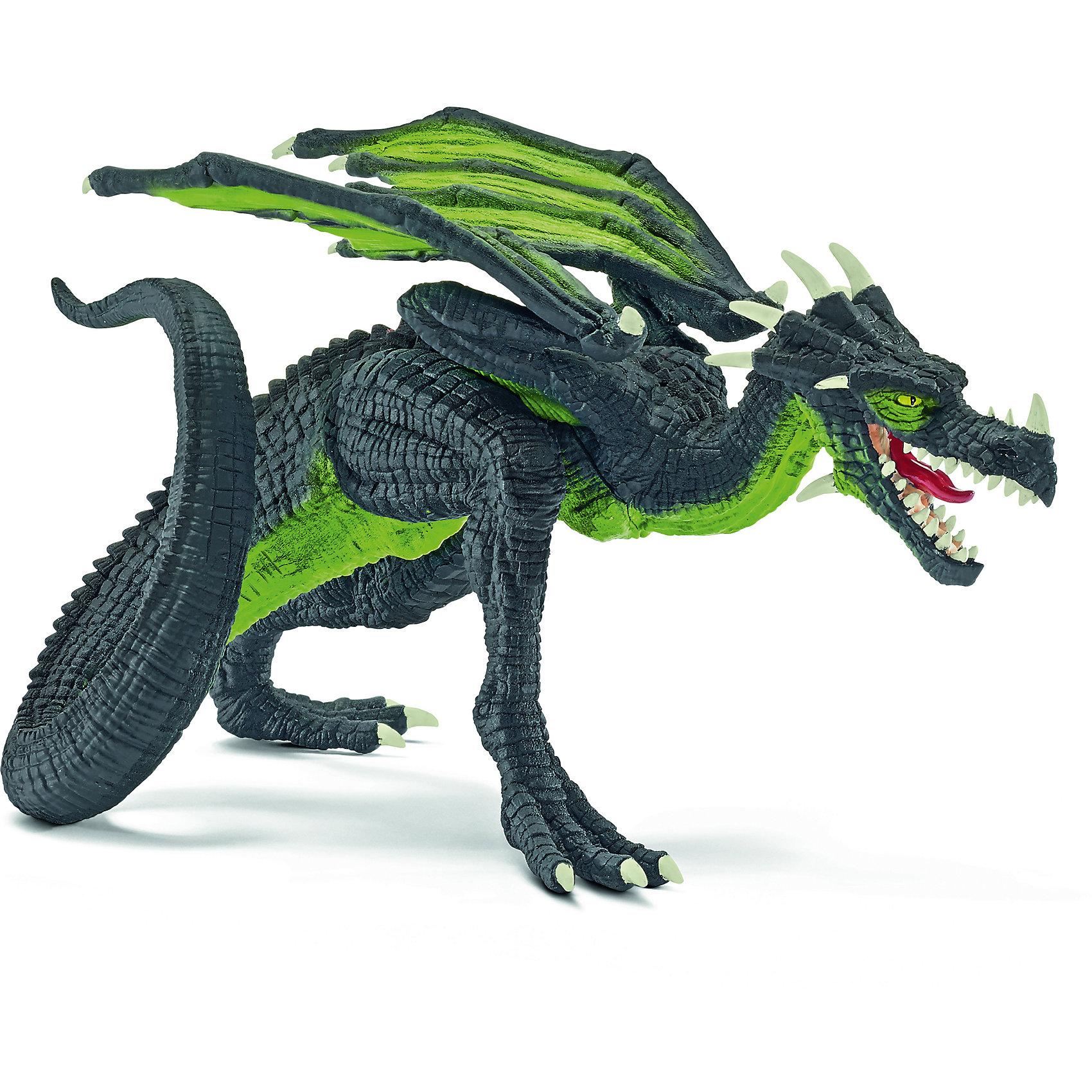 Дракон Бегун, SchleichДраконы и динозавры<br>Дракон Бегун, Schleich (Шляйх) – это высококачественная игровая фигурка.<br>Дракон Бегун из серии Рыцари от Schleich (Шляйх) - восхитительная фигурка дракона, которая сделает игры с рыцарями и воинами еще увлекательнее. Дракон Бегун неплохо летает. Но вот скорость, что он развивает, передвигаясь по земле, действительно впечатляет. Стремительный силуэт бегущего дракона абсолютно узнаваем. Дракон Бегун вполне безобиден, он вступает в бой только в случае крайней необходимости. Всегда чистенький, можно сказать, опрятный; будто дракон следит за своим внешним видом, и ему не безразлично, что скажут о нём окружающие. <br>Прекрасно выполненные фигурки Schleich (Шляйх) отличаются высочайшим качеством игрушек ручной работы. Каждая фигурка разработана с учетом исследований в области педагогики и производится как настоящее произведение для маленьких детских ручек. Все фигурки Schleich (Шляйх) сделаны из гипоаллергенных высокотехнологичных материалов, раскрашены вручную и не вызывают аллергии у ребенка.<br><br>Дополнительная информация:<br><br>- Размер фигурки: 18,8 х 11,6 х 11,6 см.<br>- Материал: высококачественный каучуковый пластик<br><br>Фигурку Дракон Бегун, Schleich (Шляйх) можно купить в нашем интернет-магазине.<br><br>Ширина мм: 169<br>Глубина мм: 101<br>Высота мм: 115<br>Вес г: 130<br>Возраст от месяцев: 36<br>Возраст до месяцев: 96<br>Пол: Мужской<br>Возраст: Детский<br>SKU: 3902629