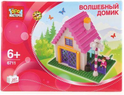 Конструктор Дом , 207 дет., Город мастеров