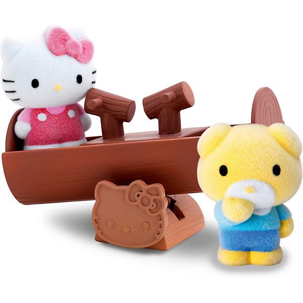 Игровой набор Веселые качели Hello Kitty, Blue BoxИгрушки<br>Замечательный набор понравится всем любителям очаровательной кошечки. Пусть Китти  со своим другом Типпи качается на качелях и веселится вместе с тобой! Маленькие бархатные фигурки очень приятны на ощупь и прекрасно помещаются в детской ладошке или кармане. Их можно брать куда угодно - на прогулку, в гости, в детский сад - теперь твои маленькие друзья всегда будут рядом. Собери все игровые наборы  Hello Kitty (Хелло Китти) и создай  городок, в котором будет уютно Kitty и ее друзьям. Игрушки прекрасно детализированы и выполнены из высококачественных гипоаллергенных материалов безвредных для детей.<br><br>Дополнительная информация:<br><br>- Комплектация: качель, фигурки ( 2 шт.)<br>- Материал: пластик, флок.<br>- Размер фигурки: 3,5 см.<br><br>Игровой набор Веселые качели Hello Kitty ( Хелло Кити), Blue Box<br>Ширина мм: 324; Глубина мм: 196; Высота мм: 414; Вес г: 200; Возраст от месяцев: 48; Возраст до месяцев: 84; Пол: Женский; Возраст: Детский; SKU: 3905880;