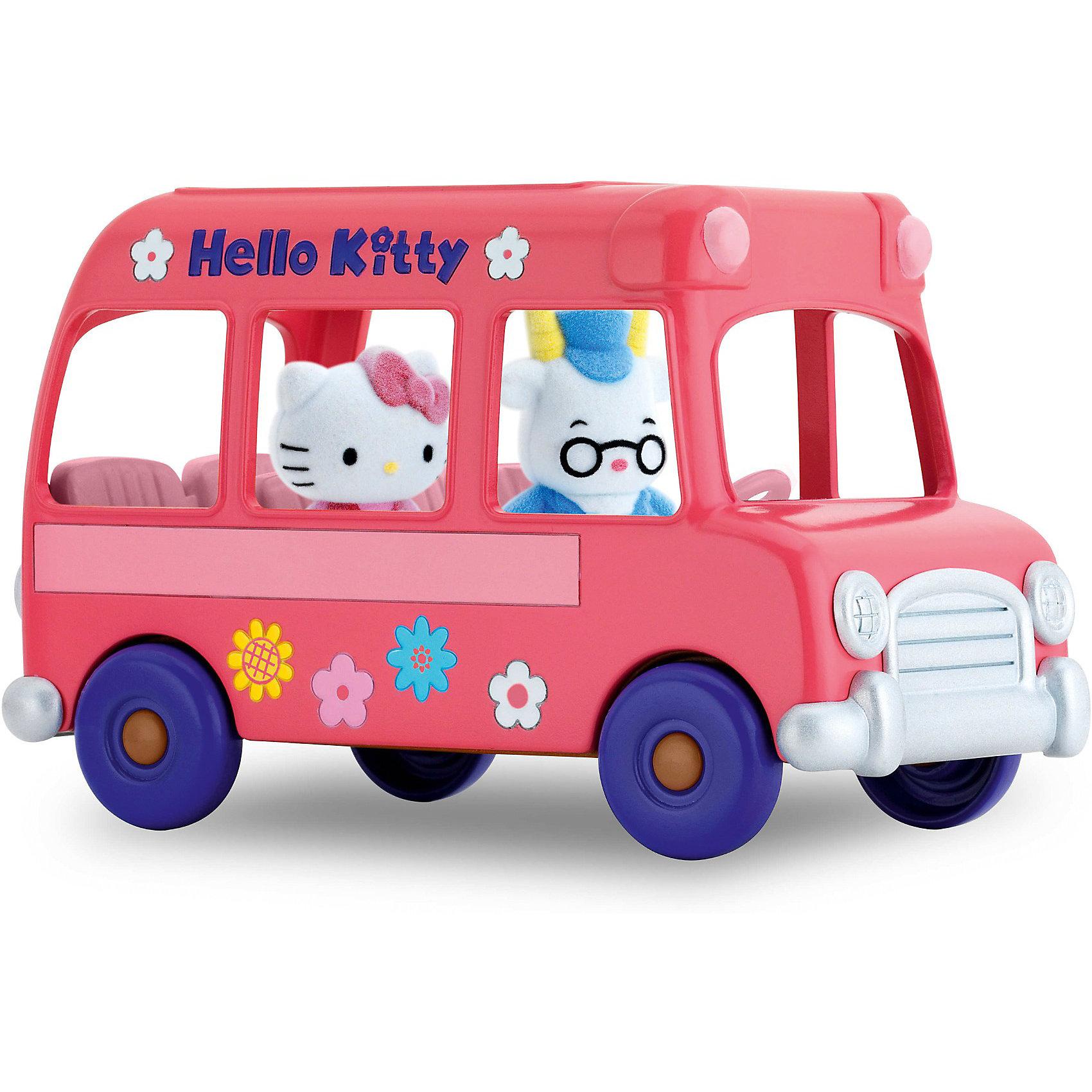 Игровой набор Школьный автобус Hello Kitty, Blue BoxЗамечательный набор понравится всем любителям очаровательной кошечки. Малышка Китти ездит в школу на  розовом автобусе, прокатись вместе с ней! Маленькие бархатные фигурки очень приятны на ощупь и прекрасно помещаются в детской ладошке или кармане. Их можно брать куда угодно - на прогулку, в гости, в детский сад - теперь твои маленькие друзья всегда будут рядом. Собери все игровые наборы  Hello Kitty (Хелло Китти) и создай маленький городок, в котором будет уютно Kitty и ее друзьям. Игрушки прекрасно детализированы и выполнены из высококачественных гипоаллергенных материалов безвредных для детей.<br><br>Дополнительная информация:<br><br>- Комплектация: автобус, фигурки ( 2 шт.)<br>- Материал: пластик, флок.<br>- Размер фигурки: 3,5 см.<br><br>Игровой набор Школьный автобус Hello Kitty ( Хелло Кити), Blue Box<br><br>Ширина мм: 284<br>Глубина мм: 248<br>Высота мм: 284<br>Вес г: 204<br>Возраст от месяцев: 48<br>Возраст до месяцев: 84<br>Пол: Женский<br>Возраст: Детский<br>SKU: 3905881
