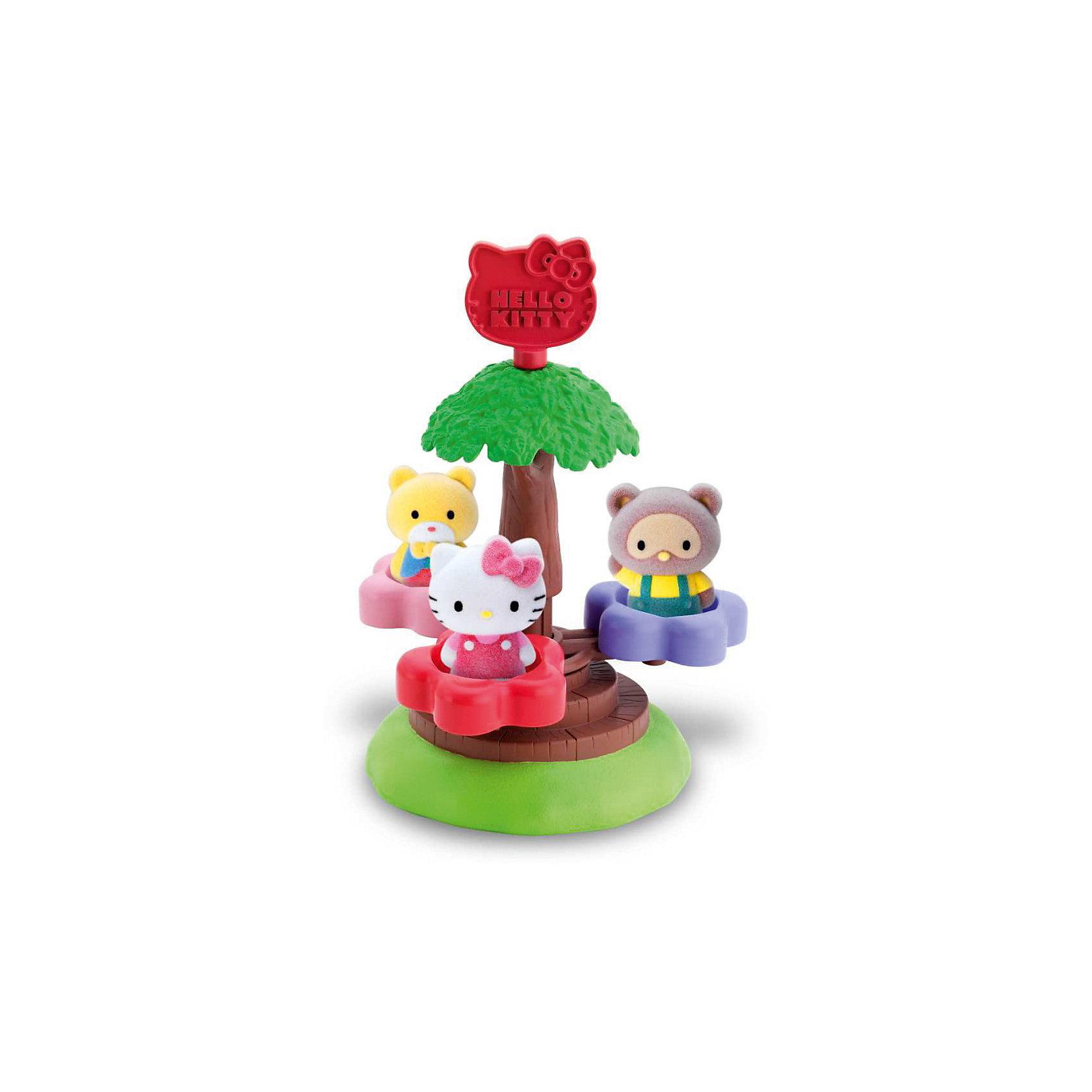 Игровой набор  Волшебная карусель Hello Kitty, Blue BoxЗамечательный набор понравится всем любителям очаровательной кошечки. Прокатись на веселой карусели вместе с Китти и ее друзьями! Маленькие бархатные фигурки очень приятны на ощупь и прекрасно помещаются в детской ладошке или кармане. Их можно брать куда угодно - на прогулку, в гости, в детский сад - теперь твои маленькие друзья всегда будут рядом. Собери все игровые наборы  Hello Kitty (Хелло Китти) и создай маленький городок, в котором будет уютно Kitty и ее друзьям. Игрушки прекрасно детализированы и выполнены из высококачественных гипоаллергенных материалов безвредных для детей.<br>Дополнительная информация:<br><br>- Комплектация: карусель, фигурки ( 3 шт.)<br>- Материал: пластик, флок.<br>- Размер фигурки: 3,5 см.<br><br>Игровой набор Школьный автобус Hello Kitty (Хелло Кити), Blue Box<br><br>Ширина мм: 361<br>Глубина мм: 183<br>Высота мм: 435<br>Вес г: 278<br>Возраст от месяцев: 48<br>Возраст до месяцев: 84<br>Пол: Женский<br>Возраст: Детский<br>SKU: 3905882