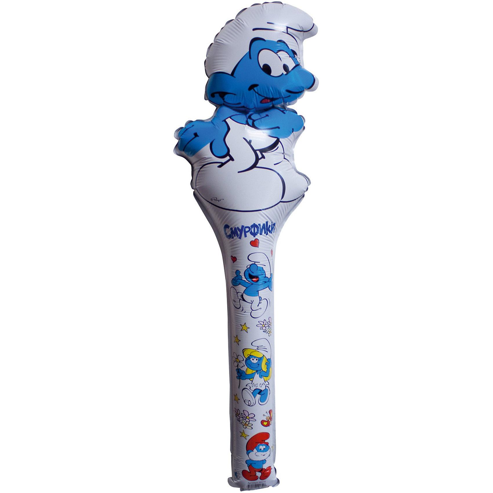 Шар фигурный Смурф, СмурфикиШар фигурный Смурф,Смурфики замечательно украсит любой детский праздник и станет прекрасной игрушкой для малыша. Красочный фольгированный шар выполнен в виде фигурки забавного Смурфа, персонажа популярного мультсериала Смурфики. Игрушка изготовлена из миларовой пленки, гелий для надувания не требуется, поставляется не надутой.<br><br>Дополнительная информация:<br><br>- Материал: миларовая пленка.<br>- Размер шара: 66 см.<br>- Вес: 12 гр.<br><br>Шар фигурный Смурф,Смурфики, можно купить в нашем интернет-магазине.<br><br>Ширина мм: 190<br>Глубина мм: 1<br>Высота мм: 660<br>Вес г: 12<br>Возраст от месяцев: 36<br>Возраст до месяцев: 96<br>Пол: Унисекс<br>Возраст: Детский<br>SKU: 3907728