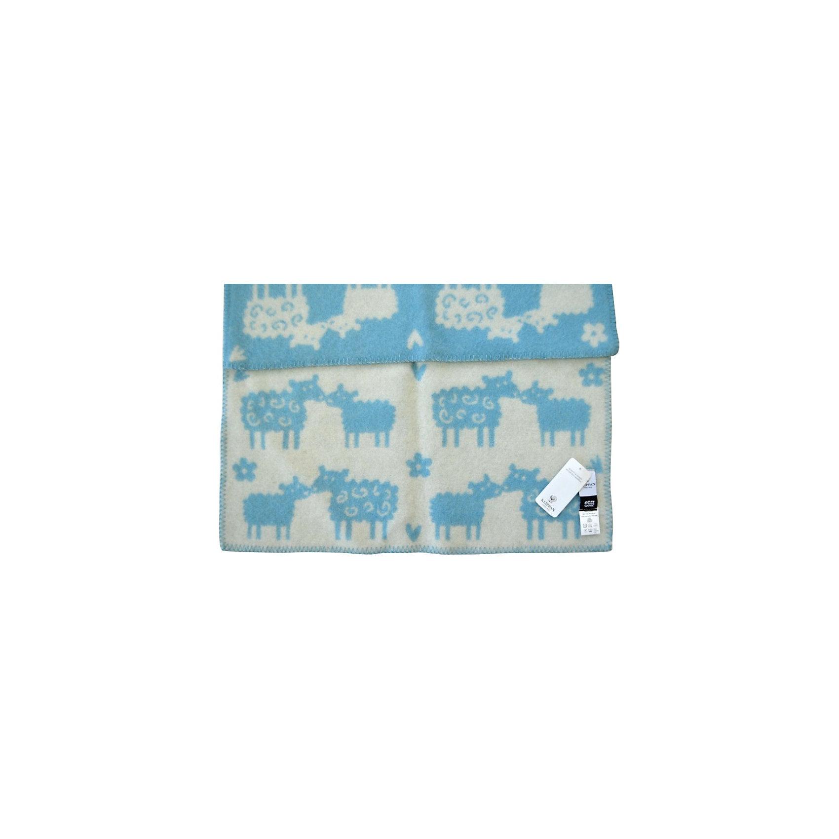 Одеяло-плед из эко-шерсти