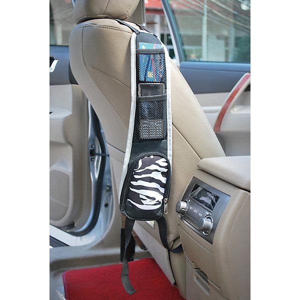 Органайзер салонный TH-001, NordCraftАксессуары для автокресел<br>Удобное и практичное изобретение для большинства автомобилей. Крепится к передним сиденьям автомобиля, либо к боковой панели сидения. Имеет три удобных кармана разного размера для хранения необходимых вещей. Эластичные ремни легко и быстро фиксируют органайзер.<br><br>Дополнительная информация:<br><br>- Материал: 600 D полиэстер.<br>- Размер: 42х11 см.<br>- Количество карманов: 3.<br><br>Органайзер салонный TH-001, NordCraft можно купить в нашем магазине.<br>Ширина мм: 300; Глубина мм: 140; Высота мм: 35; Вес г: 109; Возраст от месяцев: 6; Возраст до месяцев: 36; Пол: Унисекс; Возраст: Детский; SKU: 3918450;