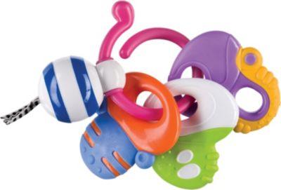 Погремушка-прорезыватель Веселые ключи , Happy Baby