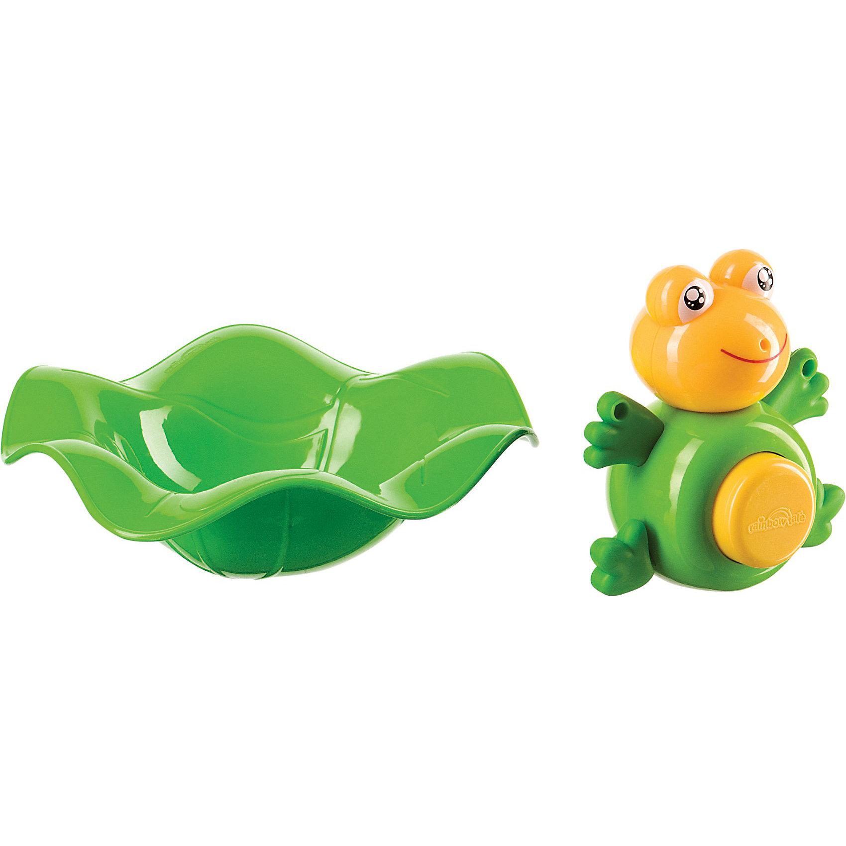 Лягушка -прорезыватель и ковш,  Happy Baby