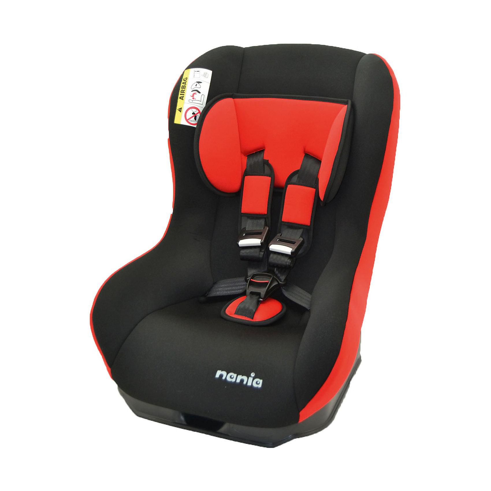 Автокресло Basic Comfort Eco, 0-18 кг., Nania, paprika