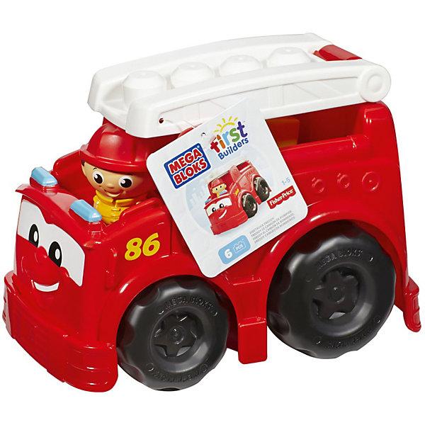 Пожарная машина Фредди First Builders, MEGA BLOKSПластмассовые конструкторы<br>Пожарная машина Фредди First Builders Mega Bloks создана для храбрых пожарников, готовых прийти на помощь в любую минуту. Крупные колеса машины крутятся, чтобы отвезти маленького пожарника. Фигурку можно посадить на лестницу, находящуюся на крыше. Спереди у машины есть глазки и милая улыбка. Для создания сюжетно-ролевой игры, в комплекте есть 6 фрагментов конструктора. Все детали изготовлены из качественных материалов и абсолютно безопасны. Позвольте малышу почувствовать себя настоящим пожарником!<br><br>Дополнительная информация: <br>Материал: пластик<br>В комплекте: пожарная машина, лестница, фигурка пожарного, 6 деталей конструктора<br>Размер упаковки: 24x18x17 см<br><br>Пожарную машину Фредди First Builders Mega Bloks можно приобрести в нашем интернет-магазине.<br><br>Ширина мм: 269<br>Глубина мм: 197<br>Высота мм: 177<br>Вес г: 529<br>Возраст от месяцев: 12<br>Возраст до месяцев: 48<br>Пол: Унисекс<br>Возраст: Детский<br>SKU: 3920909