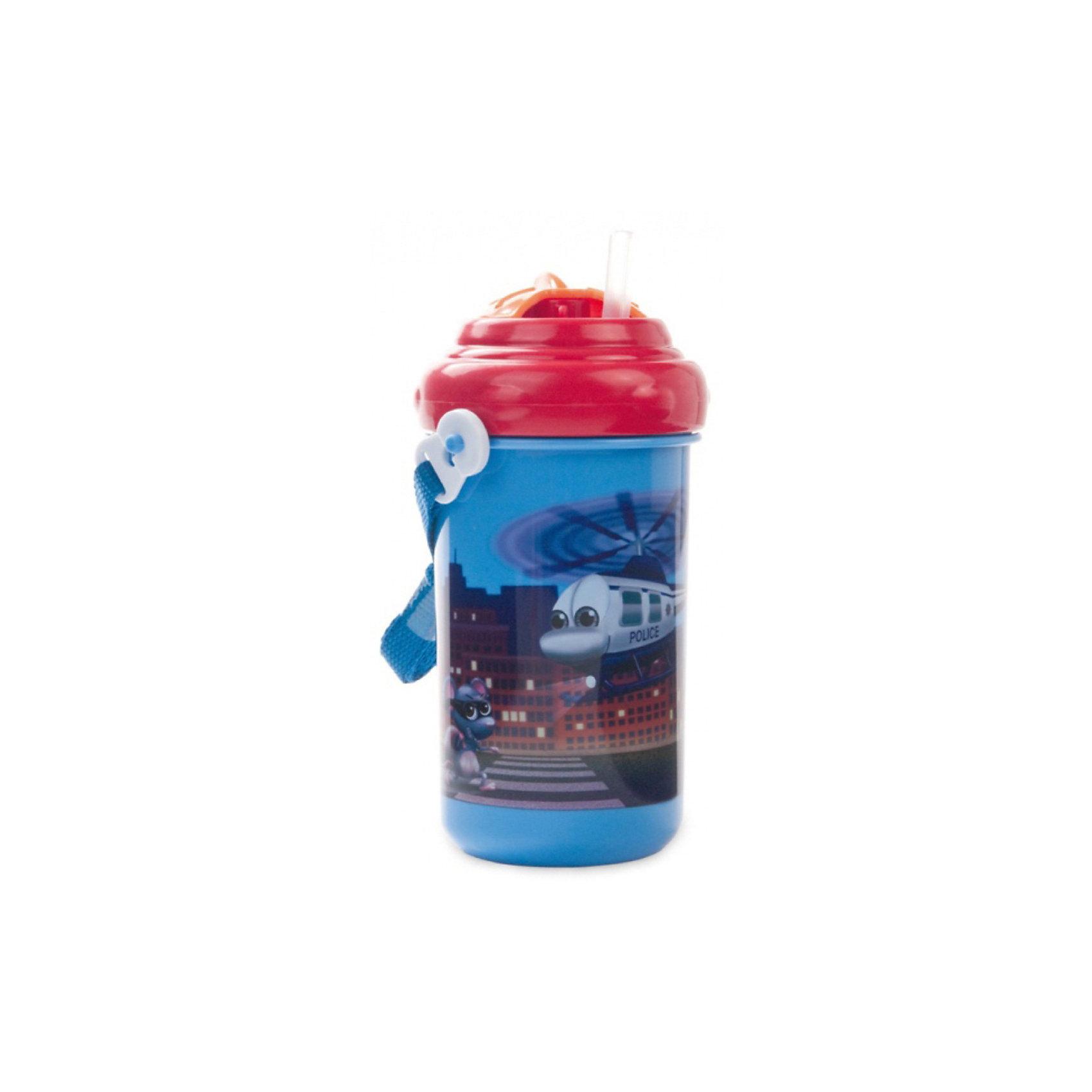 Поильник с трубочкой  Вертолёт, 400 мл., Canpol Babies, синий/красныйПоильник с трубочкой Canpol Babies позволит Вашему ребенку легко утолить жажду, не бояться при этом облиться!<br>Поильник имеет яркий дизайн, который обязательно понравится Вашему малышу! Оснащён не только трубочкой, но и удобным ремешком для переноски, например, во время прогулки. Вы можете сложить трубочку, повернув завинчивающуюся крышечку для поддержания необходимой гигиены.<br>Поильник выполнен из безопасного пластика и его можно мыть в посудомоечной машине. <br>Поильник идеально подходит не только для детей старшего возраста, но и для деток, которые только начинаю пить самостоятельно. Его также можно использовать и без крышки, как стаканчик.<br>Объем: 400 мл.<br><br>Поильник с трубочкой Canpol Babies можно купить в нашем интернет-магазине.<br><br>Ширина мм: 165<br>Глубина мм: 165<br>Высота мм: 80<br>Вес г: 128<br>Возраст от месяцев: 12<br>Возраст до месяцев: 36<br>Пол: Унисекс<br>Возраст: Детский<br>SKU: 3921591