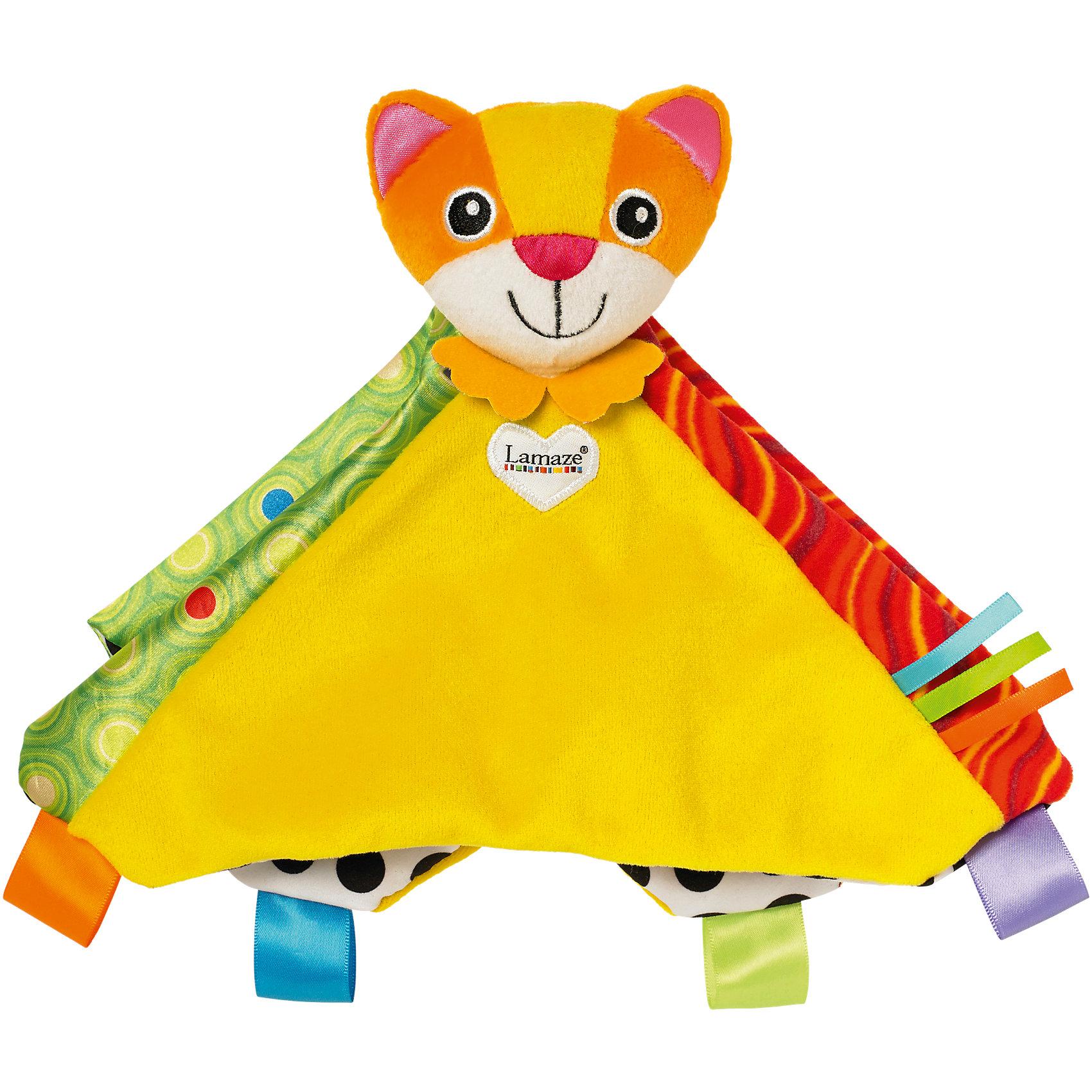 Игрушка Котенок Митти, LamazeОригинальная игрушка - погремушка для малышей. Выполнена из ярких  материалов разной текстуры, она прекрасно развивает тактильные ощущения, цветовосприятие, мелкую моторику; учит различать формы. Прекрасно подходит для маленьких детских ручек. Игрушка выполнена из высококачественных материалов, безопасных для детей. <br><br>Дополнительная информация:<br><br>- Размер: 25х25х10 см<br>- Материал: текстиль<br>- Цвет: красный, желтый, оранжевый, зеленый.<br>- звуковые эффекты: есть.<br><br>Игрушку Котенок Митти, Lamaze можно купить в нашем магазине.<br><br>Ширина мм: 216<br>Глубина мм: 44<br>Высота мм: 356<br>Вес г: 800<br>Возраст от месяцев: 0<br>Возраст до месяцев: 36<br>Пол: Унисекс<br>Возраст: Детский<br>SKU: 3922284