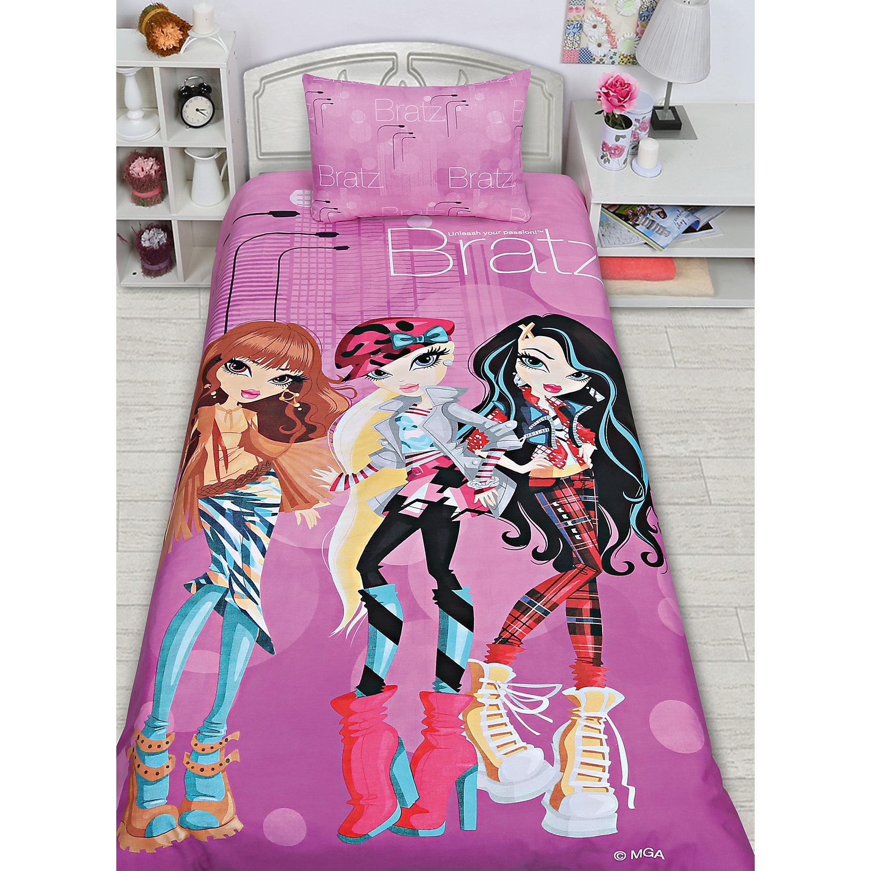 Комплект «Куклы Bratz», 1,5-спальный