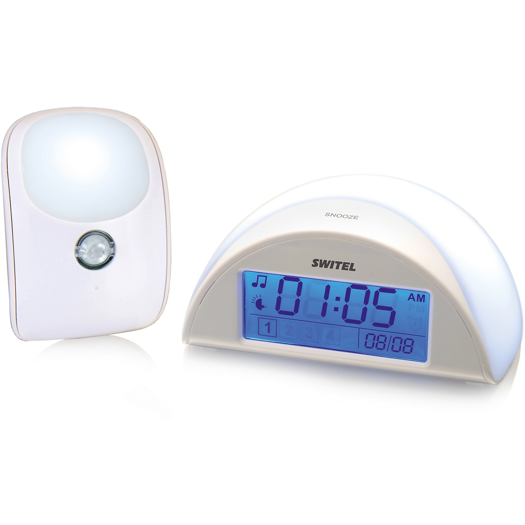 SWITEL Автоматический детский ночник с функцией радионяни BC110, SWITEL ночники pabobo ночник мишка путешественник
