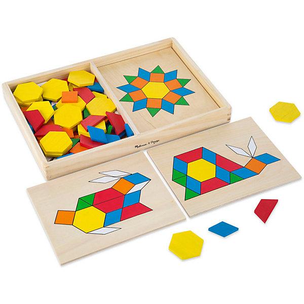 Трафарет с блоками на досках, Melissa &amp; DougИзучаем цвета и формы<br>Замечательная развивающая игра - трафарет с блоками на досках от известного бренда Melissa &amp; Doug для Вашего ребенка. Игра стимулирует воображение и фантазию, развивает мелкую моторику, помогает легко запомнить цвета и геометрические формы. Изделие выполнено из натуральной древесины высокого качества с использованием нетоксичных и безопасных для здоровья малыша красок. Обладает следующими особенностями:<br>- экологически чистые материалы;<br>- яркие насыщенные цвета;<br>- 120 деревянных элементов;<br>- 5 двусторонних дощечек с вырезанными изображениями, которые нужно заполнить небольшими геометрическими фигурками;<br>- удобная и прочная деревянная коробочка для хранения.<br>Качественная и полезная игрушка для ребенка. <br><br>Дополнительная информация:<br>- Вес: 1133 гр;<br>- Габариты: 220х330х40 мм;<br>- Рекомендуемый возраст: с 12 месяцев с обязательным участием взрослых (содержит мелкие детали).<br><br>Трафарет с блоками на досках Melissa &amp; Doug можно купить в нашем магазине<br>Ширина мм: 220; Глубина мм: 330; Высота мм: 40; Вес г: 1133; Возраст от месяцев: 36; Возраст до месяцев: 72; Пол: Унисекс; Возраст: Детский; SKU: 3927696;