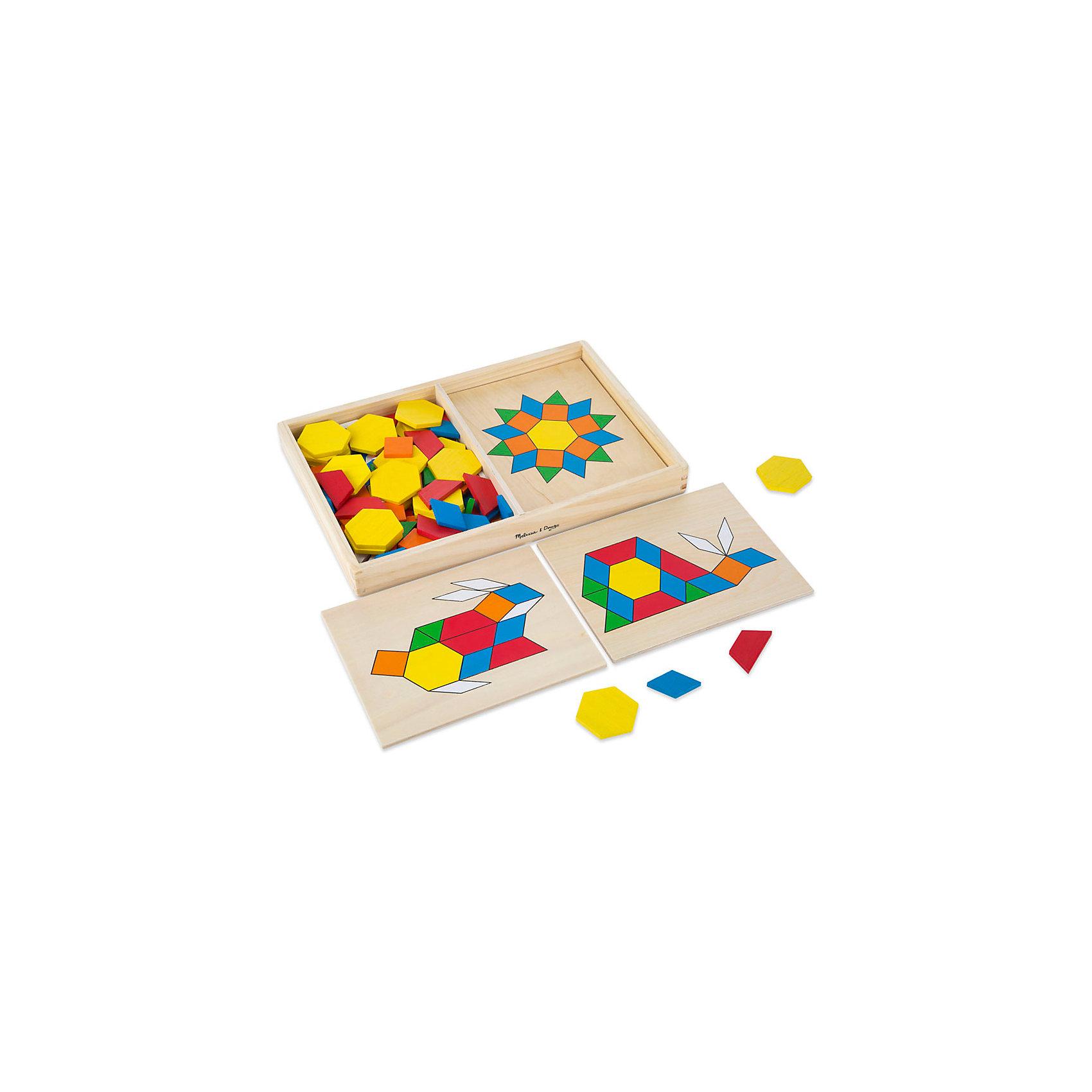 Трафарет с блоками на досках, Melissa &amp; DougРазвивающие игры<br>Замечательная развивающая игра - трафарет с блоками на досках от известного бренда Melissa &amp; Doug для Вашего ребенка. Игра стимулирует воображение и фантазию, развивает мелкую моторику, помогает легко запомнить цвета и геометрические формы. Изделие выполнено из натуральной древесины высокого качества с использованием нетоксичных и безопасных для здоровья малыша красок. Обладает следующими особенностями:<br>- экологически чистые материалы;<br>- яркие насыщенные цвета;<br>- 120 деревянных элементов;<br>- 5 двусторонних дощечек с вырезанными изображениями, которые нужно заполнить небольшими геометрическими фигурками;<br>- удобная и прочная деревянная коробочка для хранения.<br>Качественная и полезная игрушка для ребенка. <br><br>Дополнительная информация:<br>- Вес: 1133 гр;<br>- Габариты: 220х330х40 мм;<br>- Рекомендуемый возраст: с 12 месяцев с обязательным участием взрослых (содержит мелкие детали).<br><br>Трафарет с блоками на досках Melissa &amp; Doug можно купить в нашем магазине<br><br>Ширина мм: 220<br>Глубина мм: 330<br>Высота мм: 40<br>Вес г: 1133<br>Возраст от месяцев: 36<br>Возраст до месяцев: 72<br>Пол: Унисекс<br>Возраст: Детский<br>SKU: 3927696