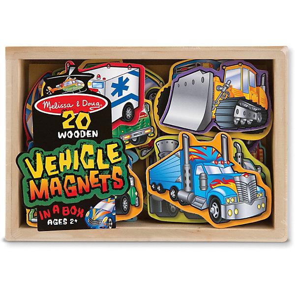 Магнитная игра Автомобили, Melissa &amp; DougНастольные игры для всей семьи<br>Замечательная магнитная игра Автомобили от известного американского бренда Melissa &amp; Doug для мальчика. Набор содержит 20 видов автомобилей, некоторые из которых уже хорошо известны малышу, а с некоторыми придется познакомиться в процессе игры. Скорая помощь, самолет, вертолет, строительная техника, мотоцикл, лимузин - что выберет Ваш сын? Каждая фигурка выполнена из дерева с магнитом, поэтому легко крепится к холодильнику, пока мама готовит, либо к магнитной доске. Игровой набор обладает следующими особенностями:<br>- качественные материалы, приятные на ощупь;<br>- яркие насыщенные цвета;<br>- хорошие понятные изображения;<br>- прочный деревянный ящик для хранения и транспортировки.<br>Отличная игра для юного автолюбителя!<br><br>Дополнительная информация:<br>- вес: 408 гр;<br>- габариты: 140х200х40 мм;<br>- рекомендуемый возраст: от 1 года при участии родителей;<br>- состав: дерево, прессованный картон, пвх.<br><br>Магнитную игру Автомобили Melissa &amp; Doug можно купить в нашем магазине<br>Ширина мм: 140; Глубина мм: 200; Высота мм: 40; Вес г: 408; Возраст от месяцев: 24; Возраст до месяцев: 60; Пол: Унисекс; Возраст: Детский; SKU: 3927716;