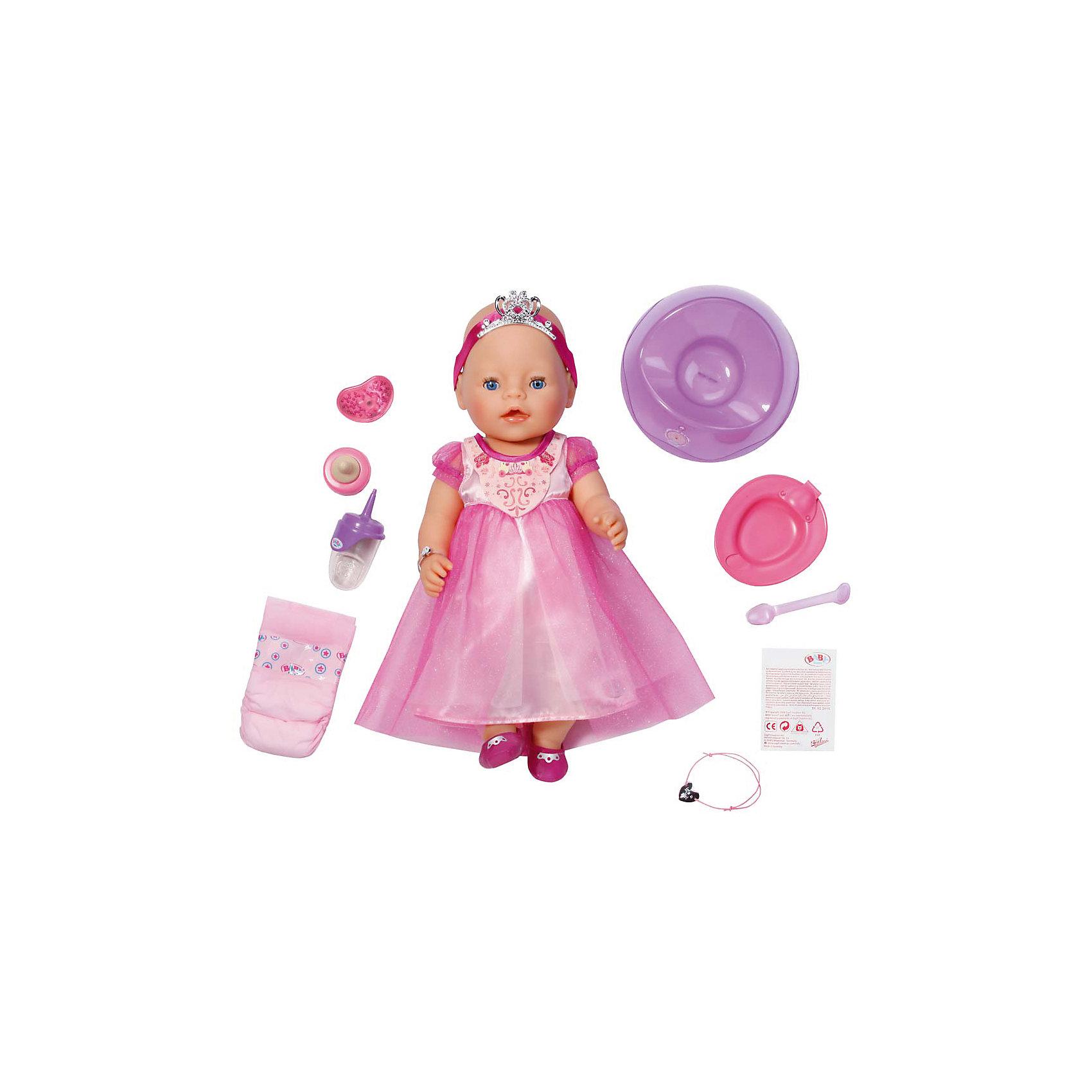 Интерактивная кукла Принцесса, 43 см,  BABY born