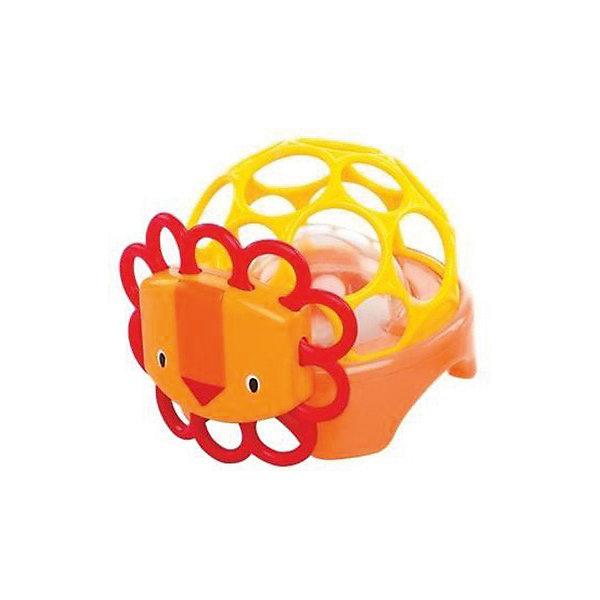 Погремушка Зоопарк Лев, OballИгрушки для новорожденных<br>Яркая погремушка развлечет вашего малыша. Крохе будет очень удобно держать эту игрушку, так как она сделана специально для маленьких детских ручек. Внутри прозрачного шарика находятся маленькие бусинки, которые  издают забавные звуки, когда малыш трясет игрушку. Погремушка выполнена из мягкого гибкого пластика, который не поранит ребенка. Развивает мелкую моторику, зрение и слух.<br><br>Дополнительные информация:<br><br>- Размеры товара: 10х12х9 см<br>- Материал: пластик. <br><br>Погремушку Зоопарк Лев, Oball можно купить в нашем магазине.<br><br>Ширина мм: 98<br>Глубина мм: 87<br>Высота мм: 122<br>Вес г: 183<br>Возраст от месяцев: 3<br>Возраст до месяцев: 12<br>Пол: Унисекс<br>Возраст: Детский<br>SKU: 3931058