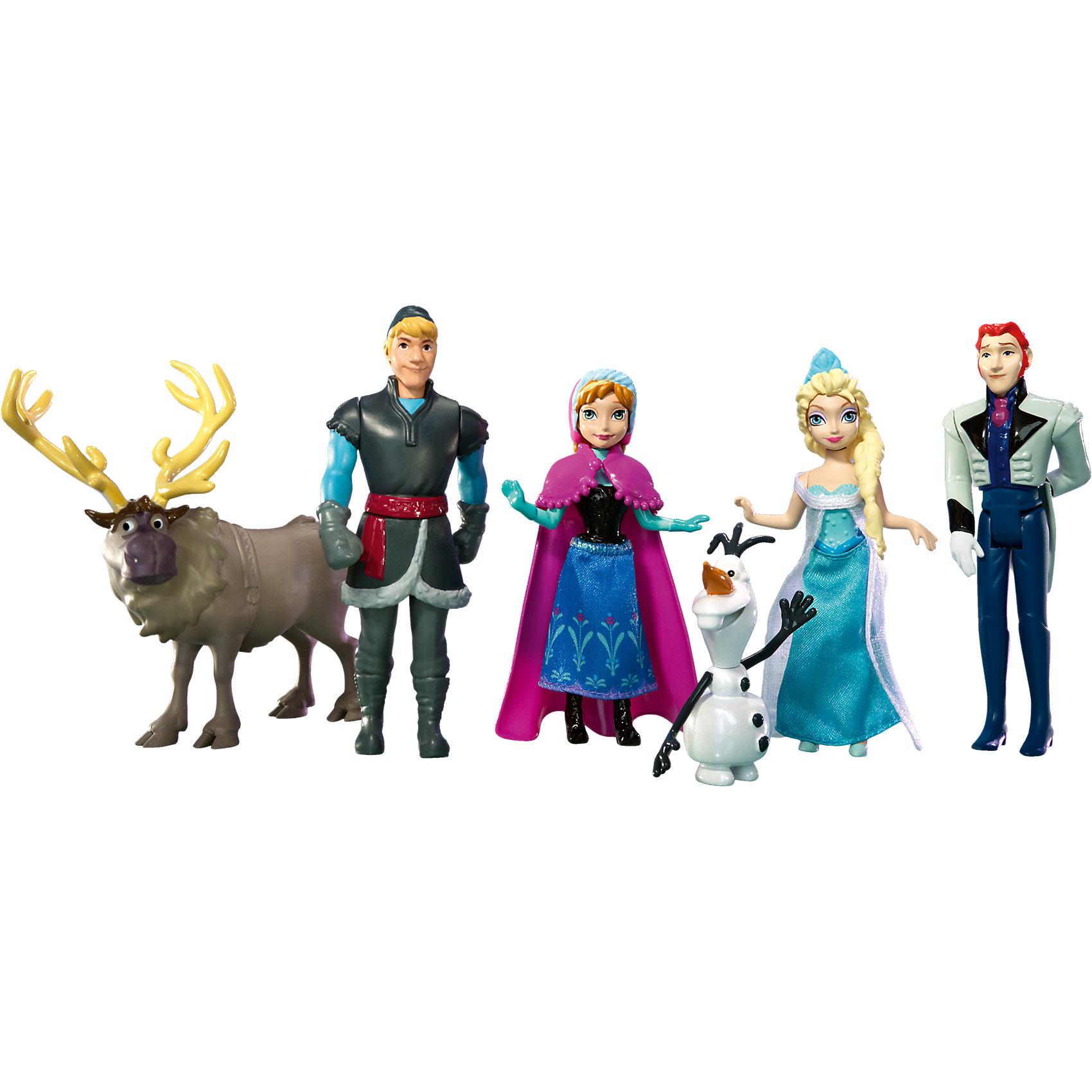 Куклы - герои м/ф Холодное сердце (Анна, Эльза, Олаф, Кристоф, Ханс, Свен), Принцессы Дисней