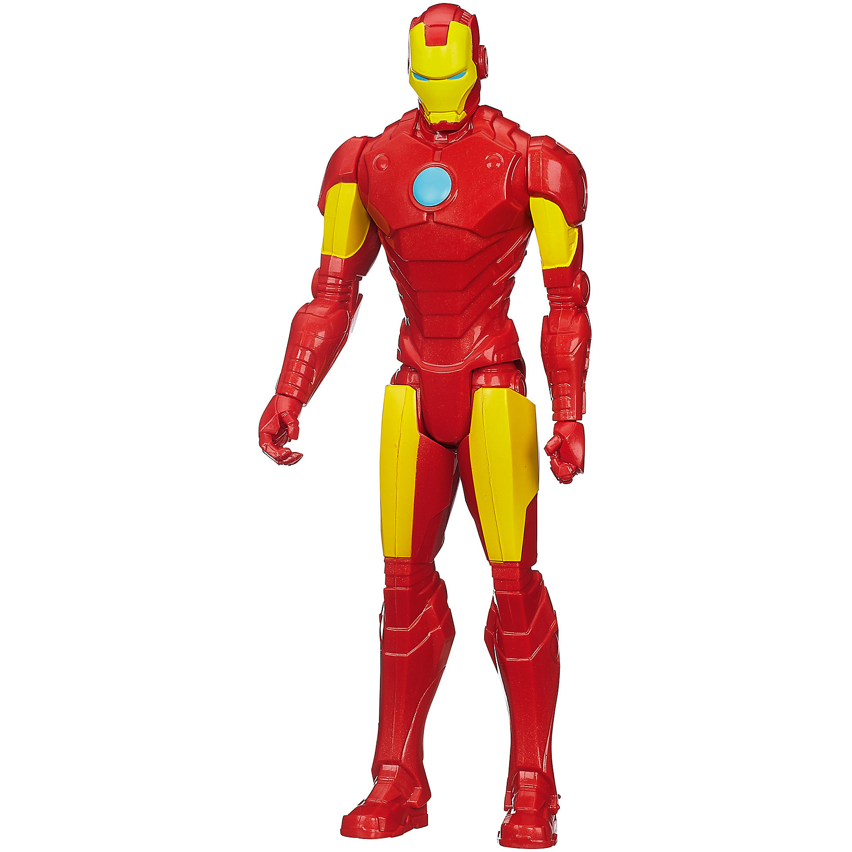 Титаны: Железный человек, 30 см, Marvel HeroesИгрушки<br>Фигурка Титаны: Железный человек, Marvel Heroes станет приятным сюрпризом для Вашего ребенка, особенно если он является поклонником популярных комиксов и фильмов о супергероях Мстители (Avengers) . Большая фигурка Железного человека выполнена с высокой степенью детализации и полностью повторяет своего экранного персонажа. Теперь можно разыгрывать по-настоящему масштабные сражения с любимым персонажем. У фигурки подвижные части тела в пяти местах.<br><br>Дополнительная информация:<br><br>- Материал: пластик.<br>- Высота фигурки: 30 см.<br>- Вес: 0,3 кг. <br><br>Фигурку Титаны: Железный человек, Marvel Heroes можно купить в нашем интернет-магазине.<br><br>Ширина мм: 310<br>Глубина мм: 104<br>Высота мм: 55<br>Вес г: 236<br>Возраст от месяцев: 48<br>Возраст до месяцев: 96<br>Пол: Мужской<br>Возраст: Детский<br>SKU: 3934888