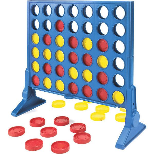 Игра Собери 4, HasbroСтратегические настольные игры<br>Яркие цвета и новый  дизайн упаковки делают классическую игру Собери 4 ещё более привлекательной и интересной. Опускайте диски в решетку, пытаясь собрать 4 в ряд - горизонтально, вертикально или по диагонали. Вы также можете использовать выдвигающийся механизм, меняя способ игры. Во время своего хода, опускайте или вытаскивайте  диск.  Выигрывает тот, кто первым достигнет цели. Игра развивает логику, внимательность, мелкую моторику, мышление. <br><br><br>Дополнительная информация:<br><br><br>- Материал: пластик.<br>- Комплектация: игровая решетка, две ножки для решетки, ползунок, инструкция, 21 фишка желтого цвета, 21 фишка красного цвета.<br>- Размер упаковки: 26х27х6 см.<br>- Размер фишки: d - 1,5 см.<br>- Количество игроков: 2 человека.<br><br>Игру Собери 4, Hasbro можно купить в нашем магазине.<br><br>Ширина мм: 54<br>Глубина мм: 267<br>Высота мм: 267<br>Вес г: 612<br>Возраст от месяцев: 72<br>Возраст до месяцев: 192<br>Пол: Унисекс<br>Возраст: Детский<br>SKU: 3936412