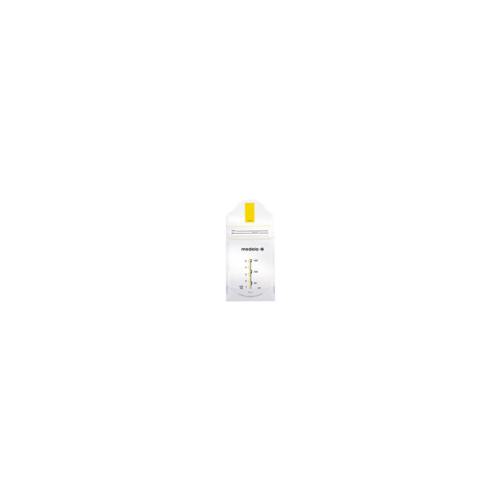 Пакеты одноразовые Pump &amp; Save для сбора и хранения грудного молока 20шт., MedelaДетская бытовая техника<br>Используются для хранения дополнительных порций молока в домашних и больничных условиях. Стерильны, уникальная самоклеящаяся лента,  позволяет сцеживать молоко непосредственно в пакет, надежно фиксируя его в воронке молокоотсоса.  Застежка-молния предотвращает протекание молока, а также является барьером для воздуха и влаги, что обеспечивает оптимальную защиту питательных веществ. Пакеты имеют область для маркировки. Занимают в холодильнике меньшее место по сравнению с контейнерами (бутылочками). <br><br>Дополнительная информация:<br><br>- Размер упаковки: 11 x 11,5 x 4,5 см.<br>- Материал: полиэстер, полиэтилен.<br>- Самоклеящаяся лента.<br>- Застежка-молния, устойчивое дно. <br>- Комплектация: 20 одноразовых пакетов. <br><br>Пакеты одноразовые Pump &amp; Save для сбора и хранения грудного молока 20шт., Medela (Медела) можно купить в нашем магазине.<br><br>Ширина мм: 118<br>Глубина мм: 110<br>Высота мм: 46<br>Вес г: 114<br>Возраст от месяцев: -2147483648<br>Возраст до месяцев: 2147483647<br>Пол: Унисекс<br>Возраст: Детский<br>SKU: 3937717