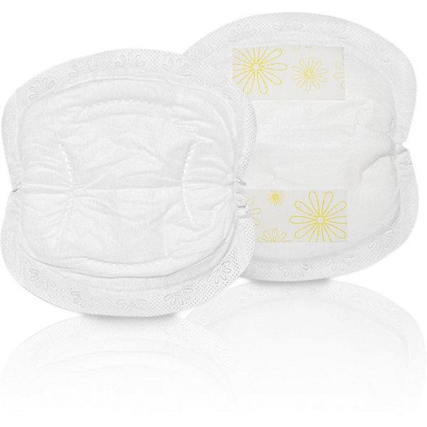 Одноразовые грудные прокладки 30шт/уп., MedelaНакладки и прокладки на грудь<br>Для впитывания подтекающего молока  и для защиты одежды. Прокладки обладают высокой впитывающей способностью. Каждая прокладка индивидуально упакована, что обеспечивает высокую гигиеничность и удобство. Тонкие материалы обеспечивают аккуратный и естественный внешний вид. Клейкая лента удерживает прокладку на месте и предотвращает ее смещение.<br><br>Дополнительная информация:<br><br>- Комплектация: 30 одноразовых прокладок. <br>- Впитывает до 60 мл молока.<br>- Подходит для любого размера груди.<br>- Материал: водонепроницаемая бумага 20 г/м3, полиакрилат натрия, слоистый полимер, двусторонняя силиконовая лента.<br>- Индивидуальная упаковка.<br>- Размер упаковки: 14х11,5х 9 см.<br><br>Одноразовые грудные прокладки 30шт/уп., Medela (Медела) можно купить в нашем магазине.<br><br>Ширина мм: 142<br>Глубина мм: 115<br>Высота мм: 92<br>Вес г: 136<br>Возраст от месяцев: -2147483648<br>Возраст до месяцев: 2147483647<br>Пол: Унисекс<br>Возраст: Детский<br>SKU: 3937718