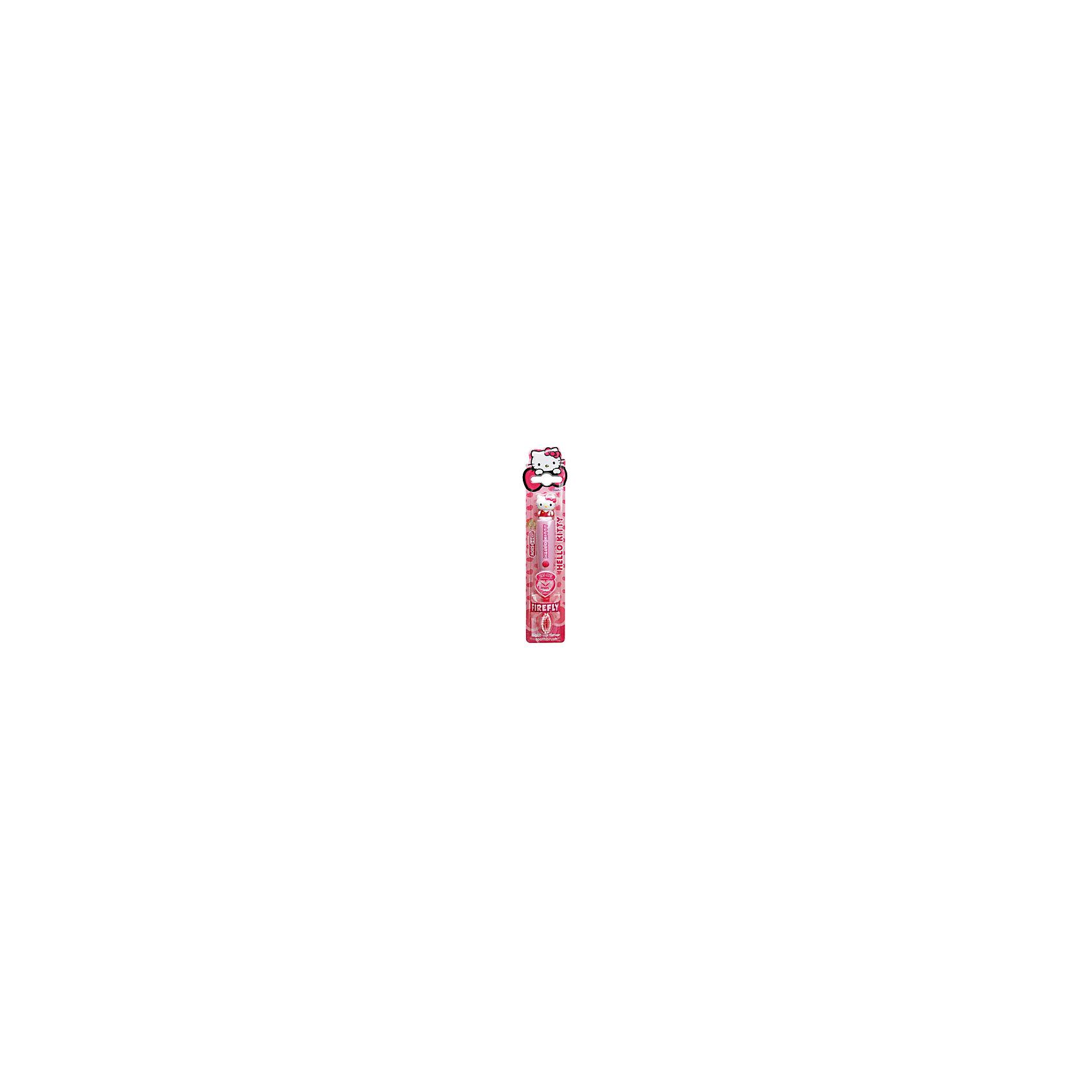 Зубная щетка Hello Kitty 3D с мигающим таймером, Firefly