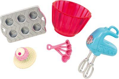 Mattel Мини-набор для декора дома Выпечка кексов , Barbie