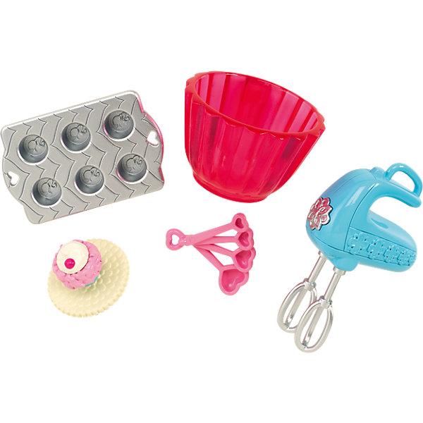 Мини-набор для декора дома Выпечка кексов, BarbieАксессуары для кукол<br>Характеристики товара:<br><br>• комплектация: миксер, посуда, кекс<br>• материал: пластик<br>• кукла продается отдельно<br>• упаковка: блистер<br>• возраст: от трех лет<br>• страна производства: Китай<br>• страна бренда: США<br><br>Этот симпатичный набор и поможет разнообразить игры с любимой куклой! В него входят вещи для детализации жизни куклы. Такой комплект станет великолепным подарком для девочек!<br><br>Куклы - это не только весело, они помогают девочкам развить вкус и чувство стиля, отработать сценарии поведения в обществе, развить воображение и мелкую моторику. Кукла Barbie от бренда Mattel не перестает быть популярной! <br><br>Мини-набор для декора дома Выпечка кексов от компании Mattel можно купить в нашем интернет-магазине.<br><br>Ширина мм: 156<br>Глубина мм: 78<br>Высота мм: 40<br>Вес г: 31<br>Возраст от месяцев: 36<br>Возраст до месяцев: 96<br>Пол: Женский<br>Возраст: Детский<br>SKU: 3939443