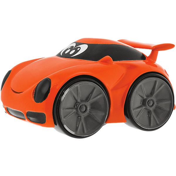 Мини-машинка Turbo Touch Richie Stunt , оранжевая, ChiccoМашинки<br>Мини-машинка Turbo Touch Richie Stunt , оранжевая, Chicco (Чикко) – это трюковая машинка с характером.<br>Мини-машинка Turbo Touch Richie Stunt от Chicco (Чикко) с забавным лицом может выполнять различные трюки. Чтобы машинка поехала, оттяните машинку назад и нажмите на нее сверху. Машинка выполняет 3 безумных трюка. Вилли - езда на задних колесах. Эффект ручного тормоза: машинка поворачивает, как будто дернули ручной тормоз. Езда на 2 колесах: машинка едет на 2 боковых колесах. Эта интересная игрушка обязательно вызовет восторг и бурю эмоций у вашего маленького гонщика. Можно играть с машинками по отдельности или собрать целую коллекцию, и устраивать шоу автогонщиков у себя дома. Играя с машинкой, малыш развивает внимание, координацию движений, воображение.<br><br>Дополнительная информация:<br><br>- Материал: высококачественный пластик<br>- Цвет: оранжевый<br>- Размер упаковки: 12,2 x 8,3 x 18,2 см.<br><br>Мини-машинку Turbo Touch Richie Stunt , оранжевую, Chicco (Чикко) можно купить в нашем интернет-магазине.<br><br>Ширина мм: 184<br>Глубина мм: 124<br>Высота мм: 83<br>Вес г: 114<br>Возраст от месяцев: 24<br>Возраст до месяцев: 60<br>Пол: Унисекс<br>Возраст: Детский<br>SKU: 3943202