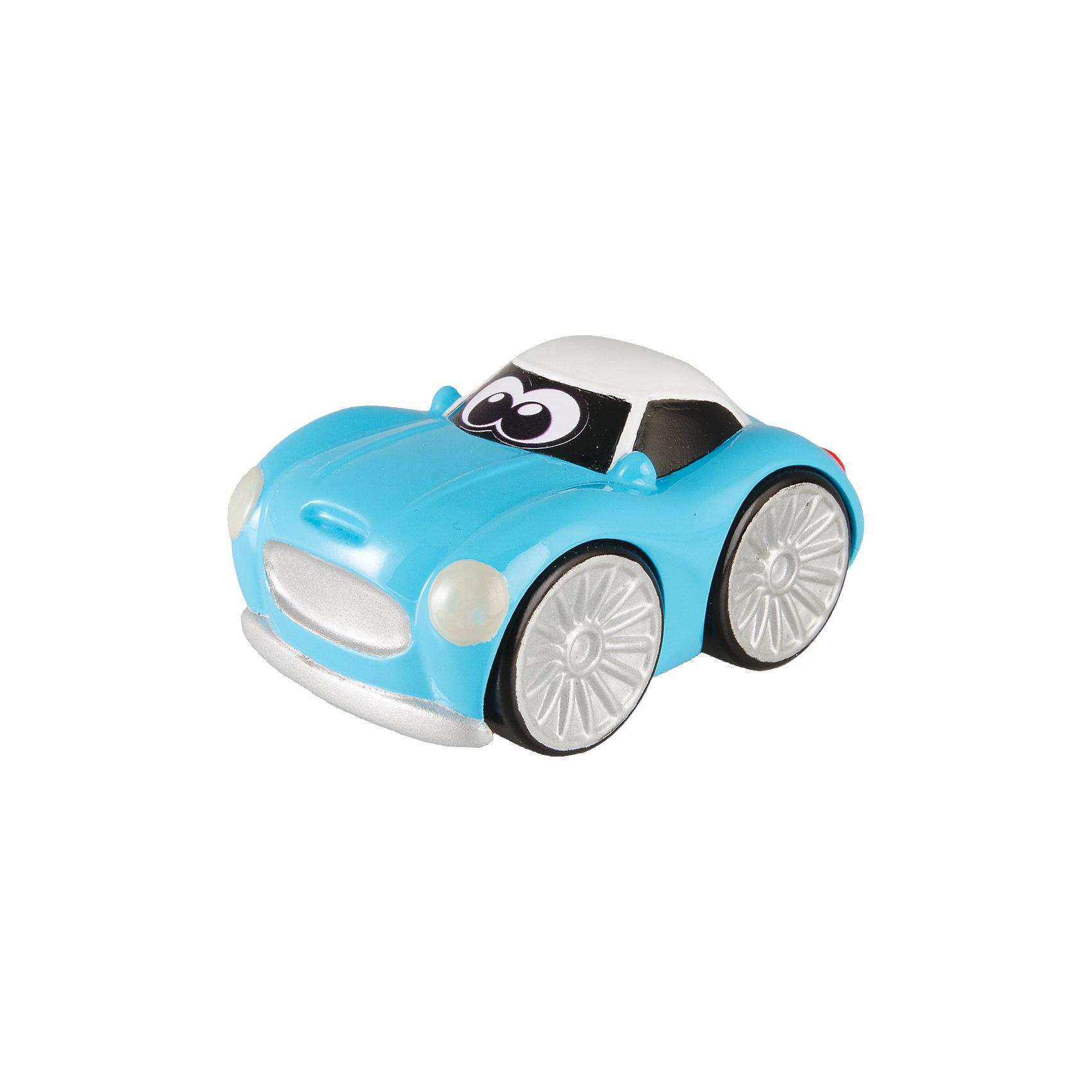 CHICCO Мини-машинка Turbo Touch Stevie Stunt, голубая, Chicco автодома на колесах бу купить в испании
