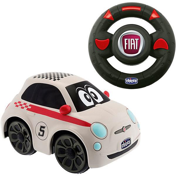 Машинка FIAT 500 Sport, с д.у., ChiccoРадиоуправляемые машины<br>Машинка FIAT 500 Sport, с д.у., Chicco (Чико) - эта машинка доставит массу удовольствия юному автолюбителю.<br>Радиоуправляемая гоночная машинка с эстетикой, характером и энергией настоящего автомобиля Fiat 500 Sport. Ретро-стиль и дух свободы настоящего Fiat 500. Fiat 500 — это модель, считающаяся жемчужиной итальянского автомобилестроения во всем мире. Первая модель была создана в 1936 году и была такой крошечной, что в народе ее прозвали Topolino (с итальянского «мышонок»), а сегодня эту машинку с игрушечной внешностью обожают все — от мала до велика. Культовый автомобиль всей Европы теперь и для маленьких гонщиков. Руль у машинки — это удобный пульт управления. Прямо как у настоящего спорткара! Просто поверните его влево или вправо, и машинка изменит направление движения. А чтобы подать сигнал другим участникам движения, нужно нажать на кнопку в центре руля. Движение машинки сопровождается реалистичным шумом мотора.<br><br>Дополнительная информация:<br><br>- Материал: высококачественный пластик<br>- Батарейки (для машинки): 4 x AA 1,5 В (не входят в комплект)<br>- Батарейки (для руля): 3 x AAA 1,5 В (не входят в комплект)<br>- Рабочая частота: 40,665 МГц<br>- Размер: 21 x 16 x 14 см.<br><br>Машинку FIAT 500 Sport, с д.у., Chicco (Чико) можно купить в нашем интернет-магазине.<br><br>Ширина мм: 375<br>Глубина мм: 215<br>Высота мм: 165<br>Вес г: 1122<br>Возраст от месяцев: 24<br>Возраст до месяцев: 60<br>Пол: Унисекс<br>Возраст: Детский<br>SKU: 3943207