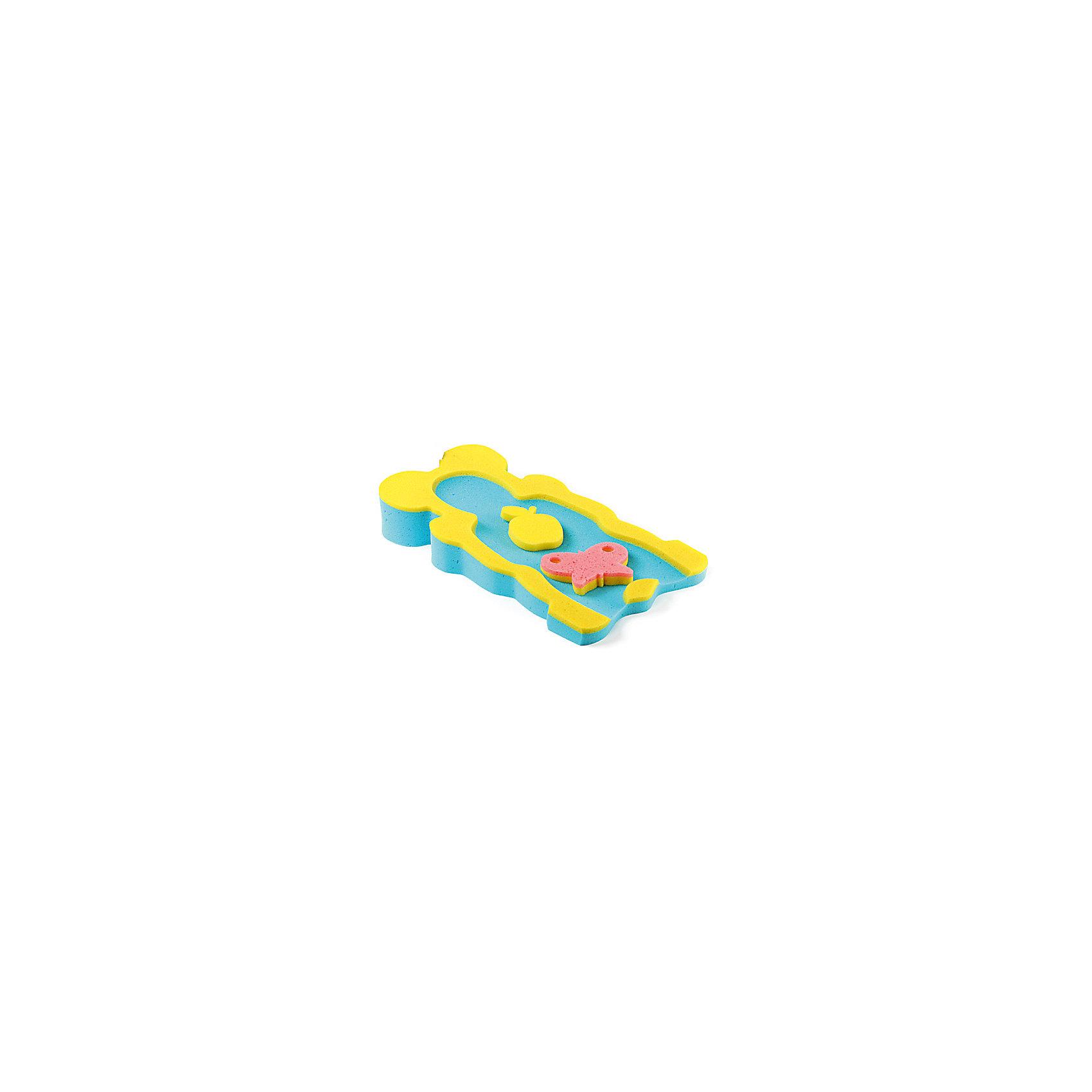 Накладка в ванну Макси, Tega, в ассортименте.Мягкая и упругая двухцветная накладка в ванну Tega Макси предназначена для купания младенцев. Выполнена в форме горки с анатомической выемкой, удобной для малыша. В комплект входят 2 фигурные мочалки-игрушки, которые смогут развеселить ребенка во время купания. Позитивная расцветка порадует и взрослых, и детей. Гипоаллергенный материал абсолютно безвреден для крохи. Идеально подходит для новорожденных. Замечательный аксессуар в помощь родителям для купания младенцев!<br><br>Дополнительная информация:<br>- вес: 700 гр.;<br>- габариты: 115х600х300 мм;<br>- категория: 0+;<br>- 2 фигурные поролоновые губки в комплекте;<br>- материал: поролон.<br><br>ВНИМАНИЕ! Данный артикул имеется в наличии в разных цветовых исполнениях. К сожалению, заранее выбрать определенный цвет невозможно. При заказе нескольких позиций возможно получение одинаковых.<br><br>Накладку в ванну Макси Tega (Тэга) двухцветную можно купить в нашем магазине<br><br>Ширина мм: 115<br>Глубина мм: 600<br>Высота мм: 300<br>Вес г: 700<br>Возраст от месяцев: -2147483648<br>Возраст до месяцев: 2147483647<br>Пол: Унисекс<br>Возраст: Детский<br>SKU: 3946072