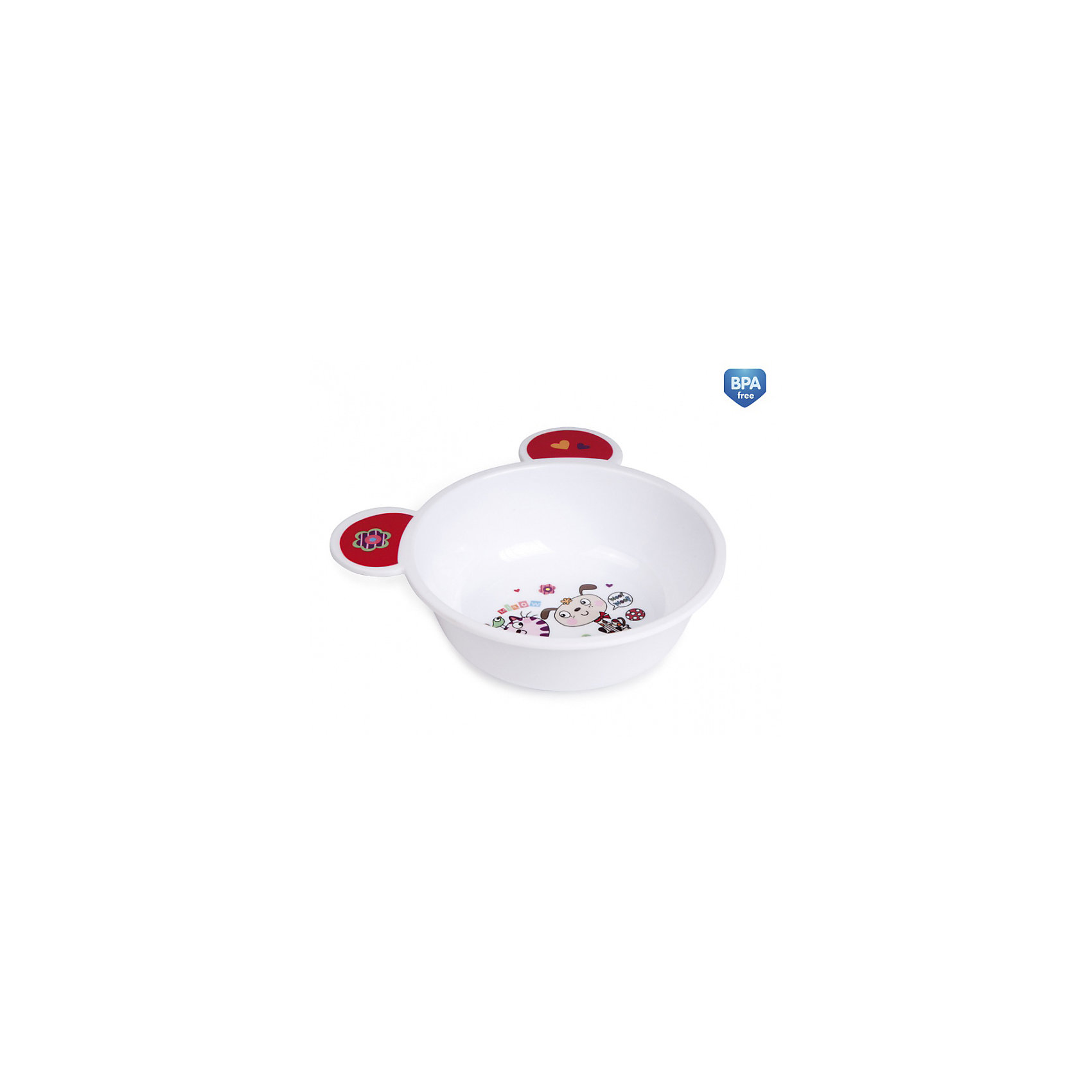 Тарелка с ушами, 270 мл., Canpol Babies, белый/красныйПосуда для малышей<br>Тарелка с ушами Canpol Babies сделает кормление ребенка еще увлекательнее и интереснее! <br>Необычная форма этой красочной тарелки и практичные ушки позволяют удобно держать тарелку во время кормления, приготовления пищи и переноски. Легкая и прочная предназначена для подачи как холодных, так и горячих блюд. <br>Красочные картинки в нескольких привлекательных исполнениях, безусловно, сделают любое кормление более приятным. <br>Тарелочку можно мыть в посудомоечной машине или использовать в микроволновой печи.<br>Дополнительная информация:<br>- Объем: 270 мл. <br>- Антискользящее дно.<br>- Материал: безопасная пластмасса.<br><br>Тарелка с ушами Canpol Babies можно купить в нашем интернет-магазине.<br><br>Ширина мм: 180<br>Глубина мм: 150<br>Высота мм: 55<br>Вес г: 62<br>Возраст от месяцев: 6<br>Возраст до месяцев: 36<br>Пол: Унисекс<br>Возраст: Детский<br>SKU: 3947850