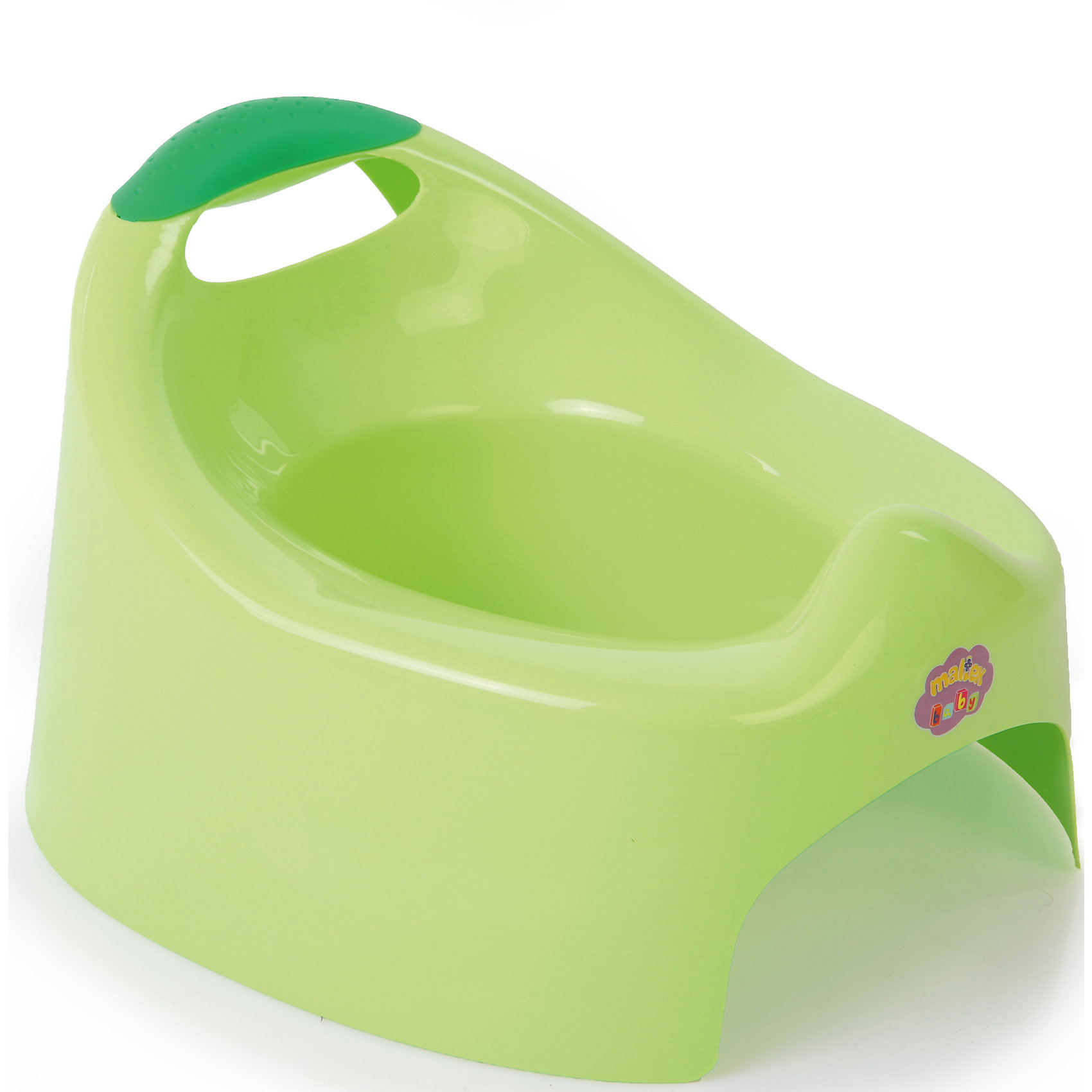 Горшок Жабка, Maltex, зелёный
