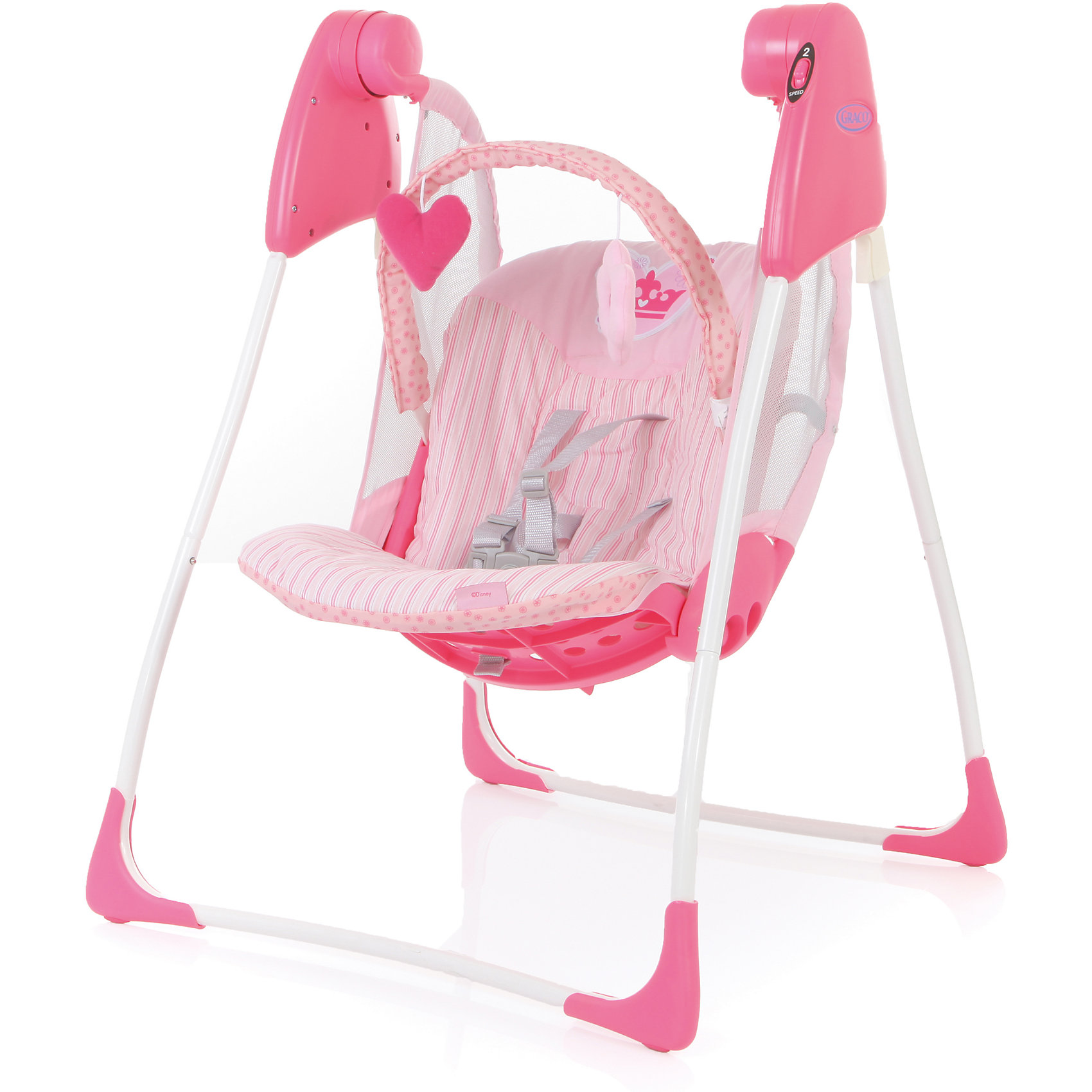 Graco Электрокачели Baby Delight, Princess Infant, Graco graco электрокачели sweet snuggle с адаптером graco
