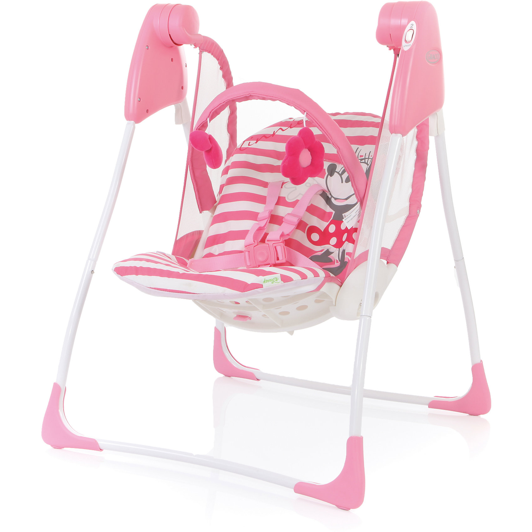 Graco Электрокачели Baby Delight, Simply Minnie, Graco graco электрокачели sweet snuggle с адаптером graco