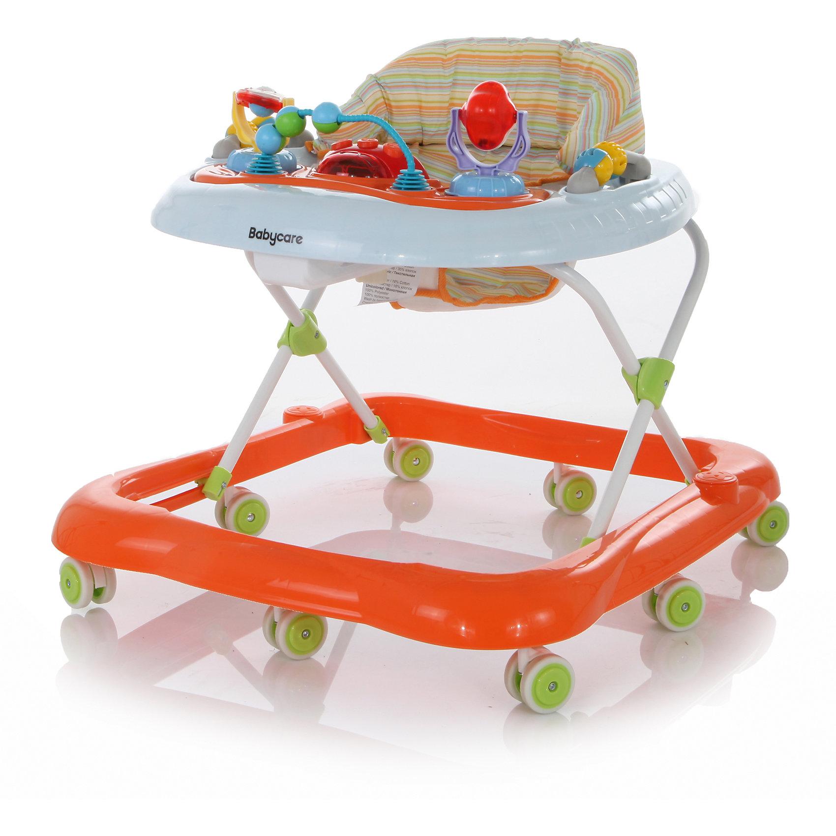 Ходунки Top-Top,  Baby Care, оранжевый