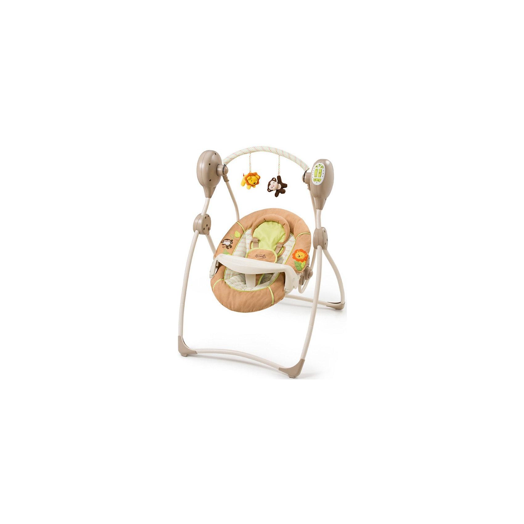 Электрокачели Swinging Safari, Summer Infant