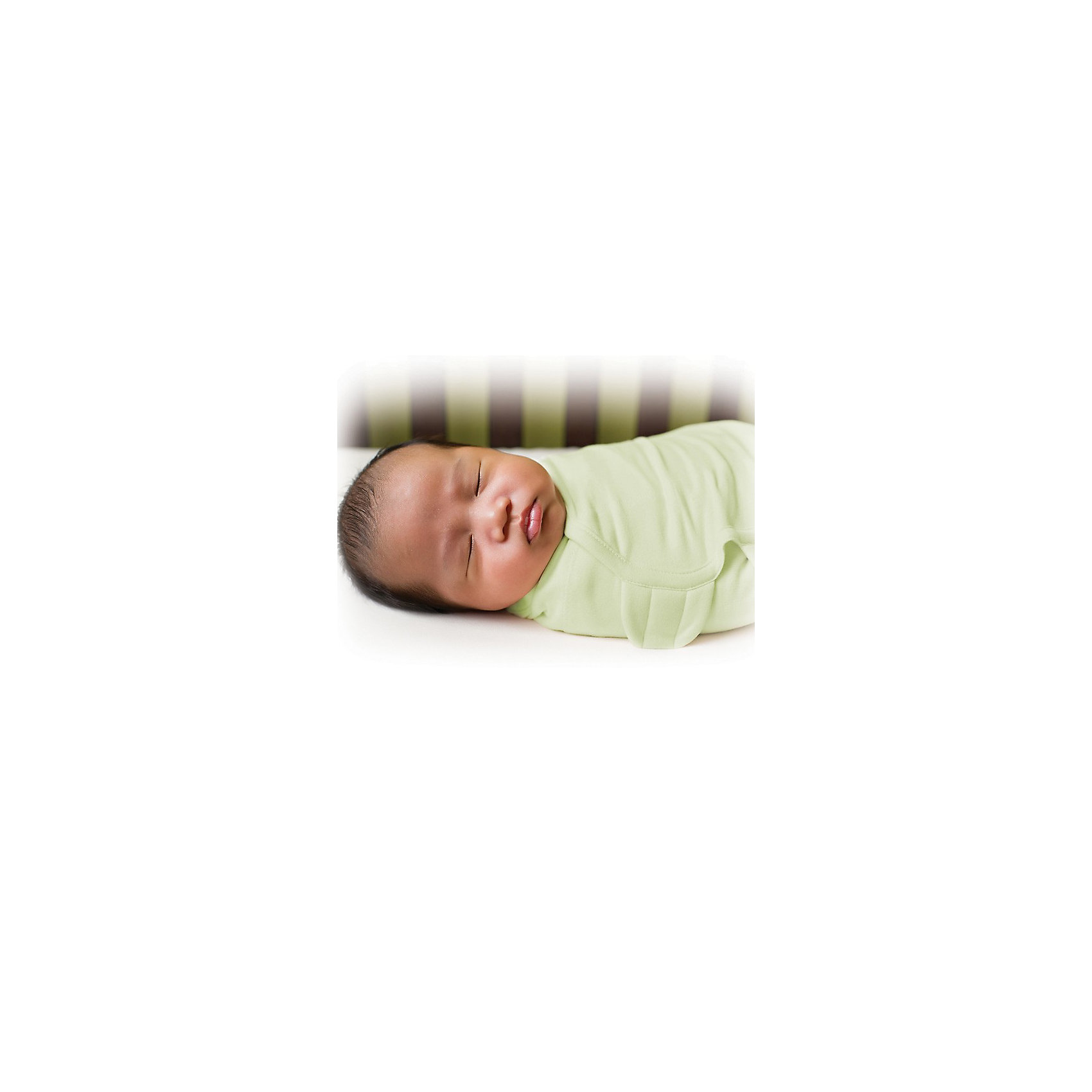 Конверт для пеленания на липучке SWADDLEME, р-р S/M, 3-6 кг., зелёныйОкутайте малыша нежностью, которую дает конверт SwaddleMe. Он сделан из хлопка с оригинальной регулируемой системой крепления на липучке. Пеленание успокаивает новорожденных, путем воссоздания знакомых ему чувств, как в утробе мамы.<br>Мягко облегая, конверт не ограничивает движение ребенка, и в тоже время помогает снизить рефлекс внезапного вздрагивания, благодаря этому сон малыша и родителей будет более крепким.<br>Регулируемые крылья для закрытия конверта сделаны таким образом, что даже самый активный ребенок не сможет распеленаться во время сна. Конверт можно открыть в области ног малыша для легкой смены подгузников - нет необходимости разворачивать детские ручки.<br><br>Дополнительная информация:<br><br>- Размер: 50 см (размер S/M).<br>- Материал: хлопок и нити эластана.<br>- Подходит для малышей среднего размера от 3 до 6 кг.<br>- Цвет: зеленый.<br><br>Конверт для пеленания на липучке SWADDLEME, р-р S/M, 3-6 кг., зеленый можно купить в нашем магазине.<br><br>Ширина мм: 30<br>Глубина мм: 150<br>Высота мм: 235<br>Вес г: 160<br>Возраст от месяцев: 0<br>Возраст до месяцев: 3<br>Пол: Унисекс<br>Возраст: Детский<br>SKU: 3950369