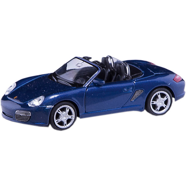 Mашина Porsche Boxster S, WellyМашинки<br>Mашина Porsche Boxster S, Welly, (Велли)<br><br>Характеристики:<br><br>• дверцы открываются и закрываются<br>• масштаб: 1:34-39<br>• инерционный механизм<br>• материал: пластик, металл<br>• размер упаковки: 15х6х11 см<br>• вес: 140 грамм<br><br>Porsche Boxster S непременно порадует любителей коллекционных автомобилей. Машина изготовлена из качественных и прочных материалов. Максимальная детализация модели обеспечивает игре реалистичность. Дверцы машины открываются и закрываются, а инерционный механизм позволяет игрушке ехать с огромной скоростью, радуя кроху.<br><br>Mашину Porsche Boxster S, Welly, (Велли) вы можете купить в нашем интернет-магазине.<br><br>Ширина мм: 60<br>Глубина мм: 150<br>Высота мм: 110<br>Вес г: 142<br>Возраст от месяцев: 84<br>Возраст до месяцев: 1188<br>Пол: Мужской<br>Возраст: Детский<br>SKU: 3952245