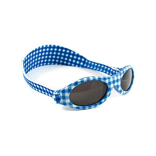 Солнцезащитные очки, голубая клетка, Baby Banz